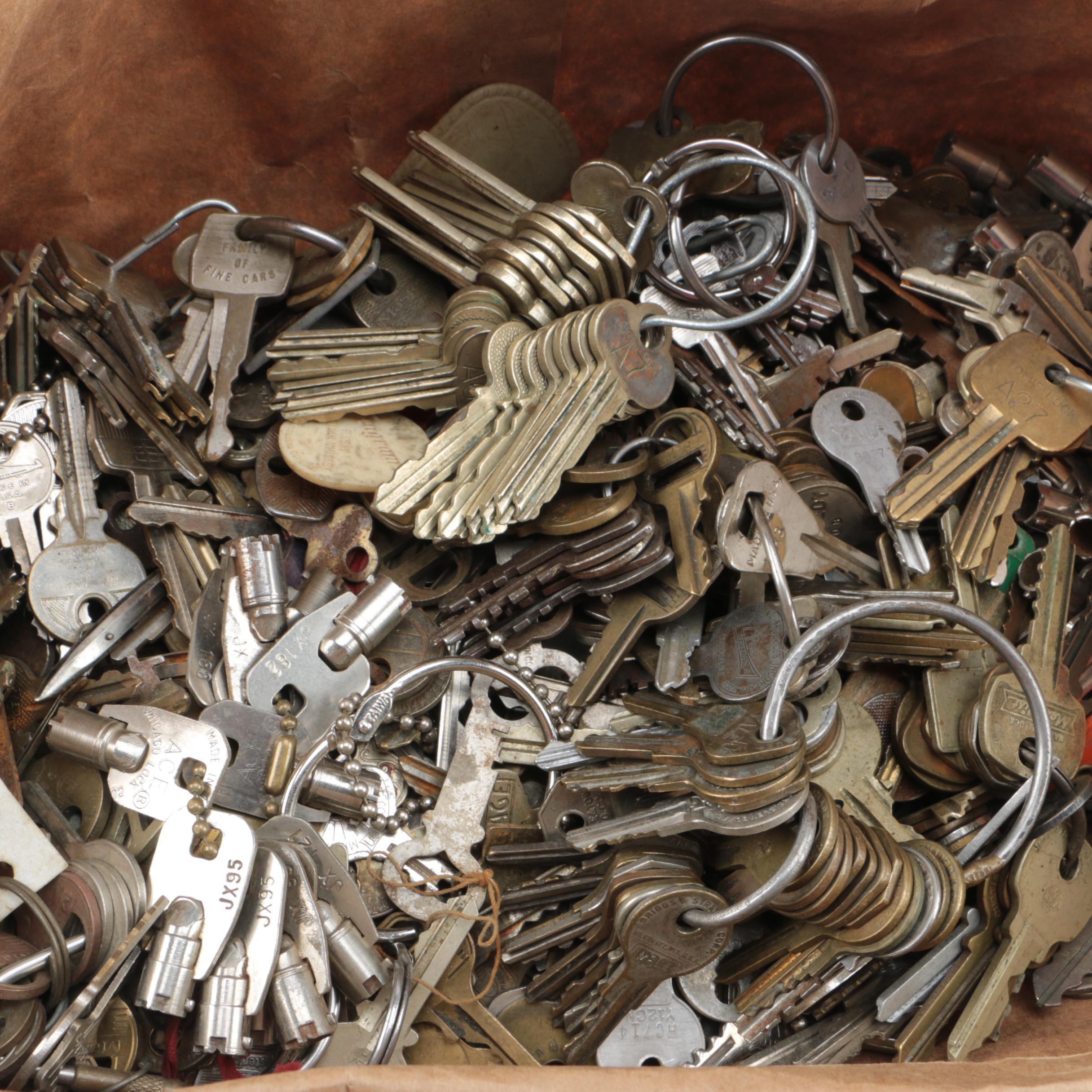 Assortment of Keys