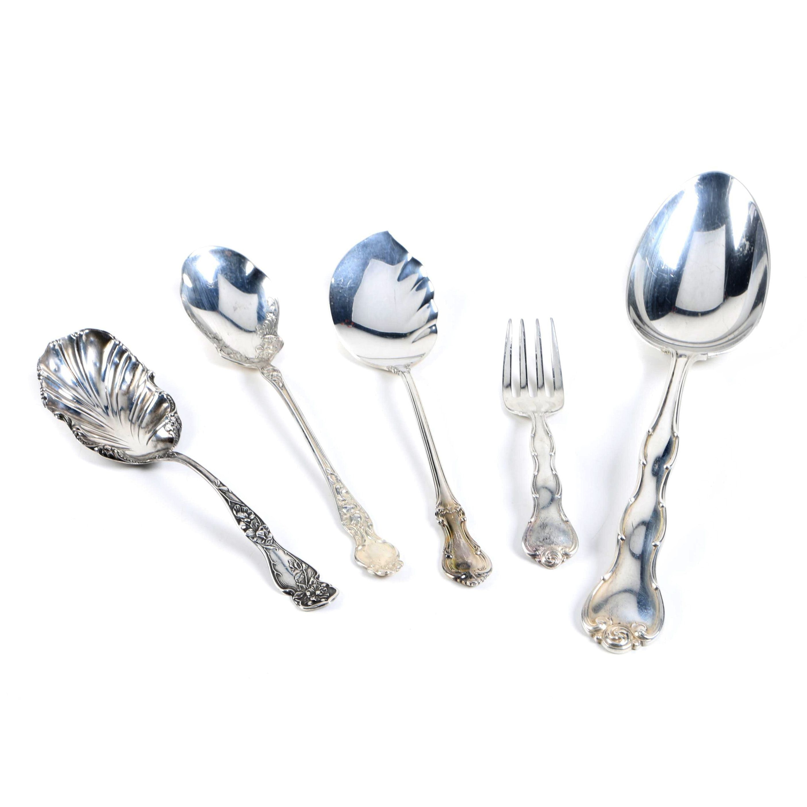 Gorham, R. Wallace & Sons, and Other Sterling Silver Flatware