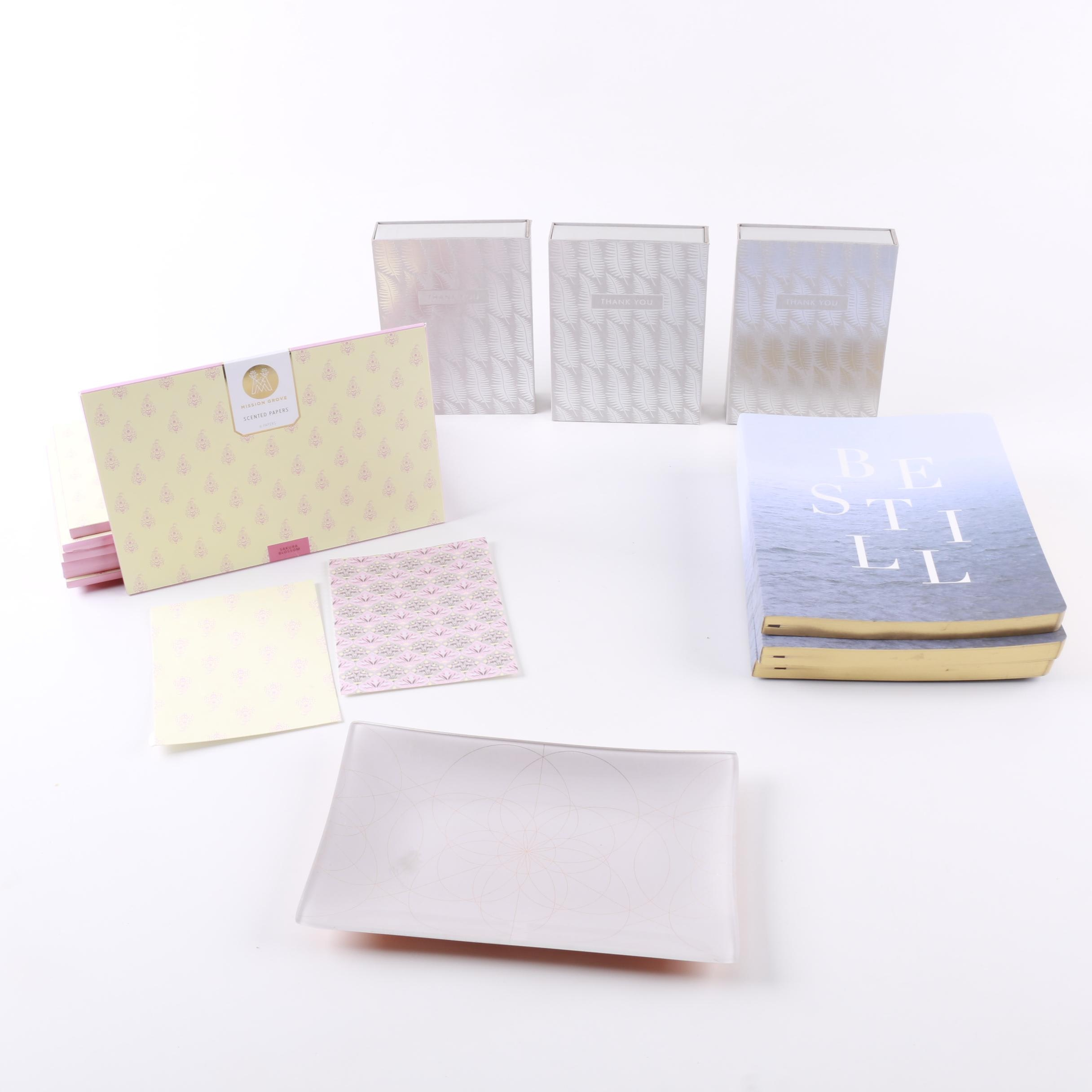 Stationery, Journals, and Note Cards
