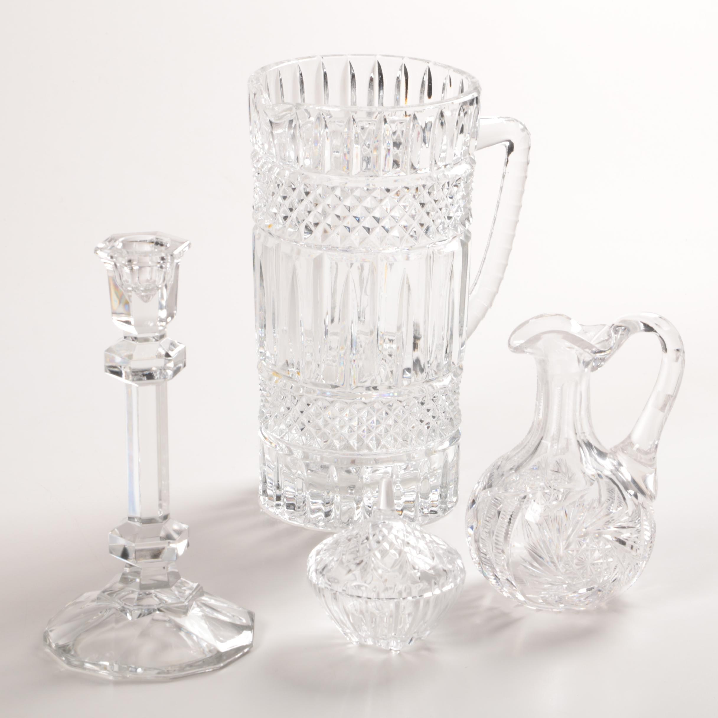 Crystal Serveware and Decor
