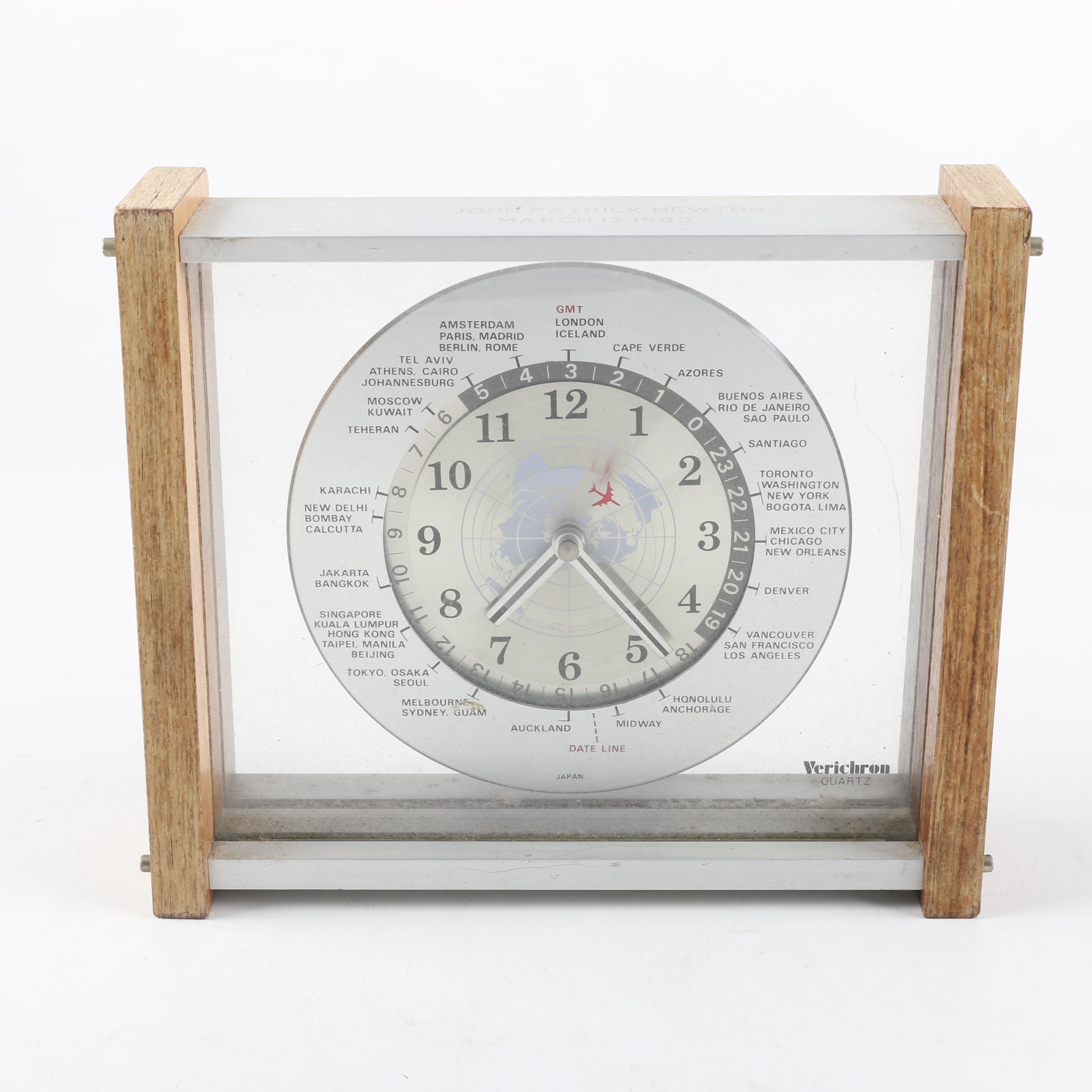 Verichron Quartz World Clock