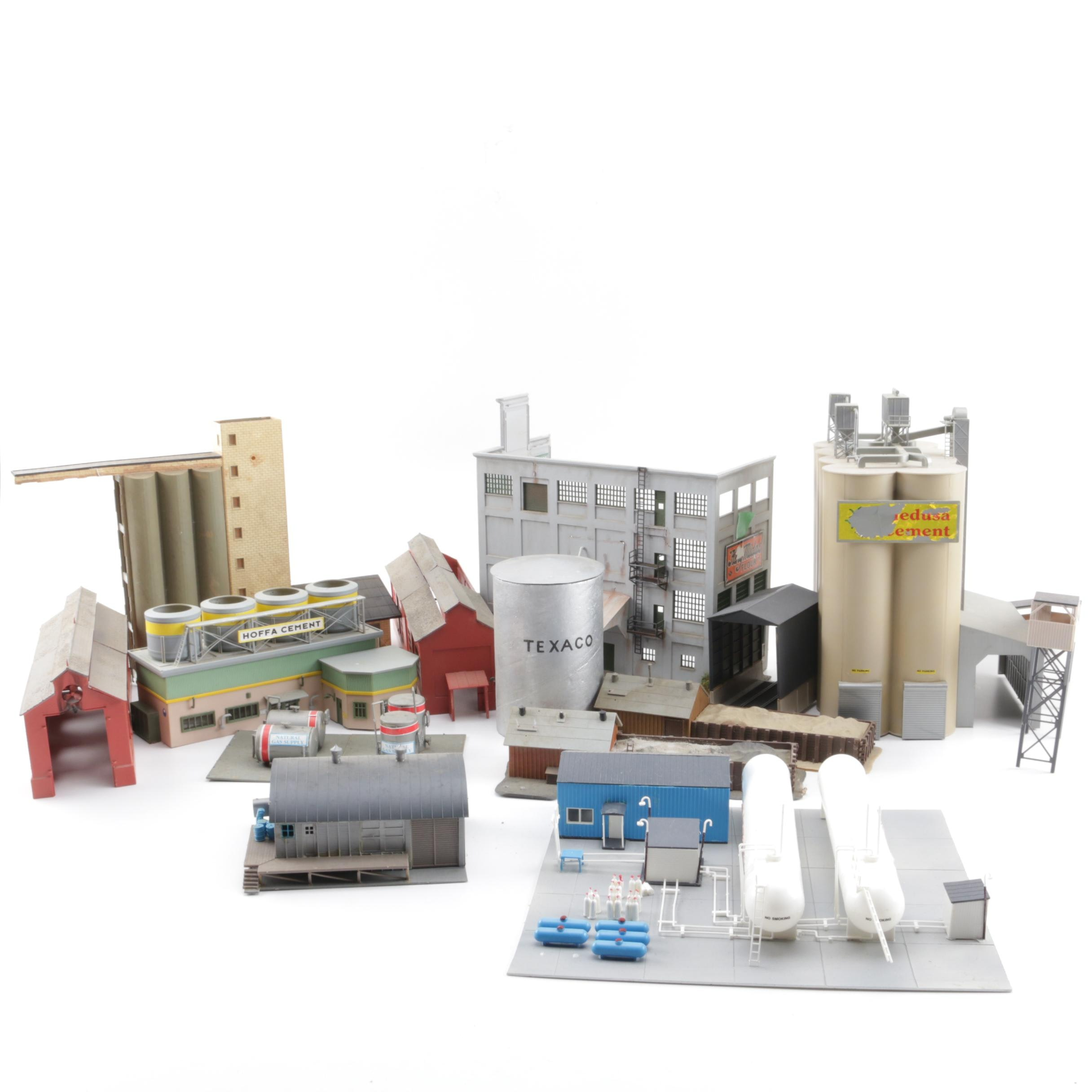 Collection of Industrial Buildings for Model Railroads