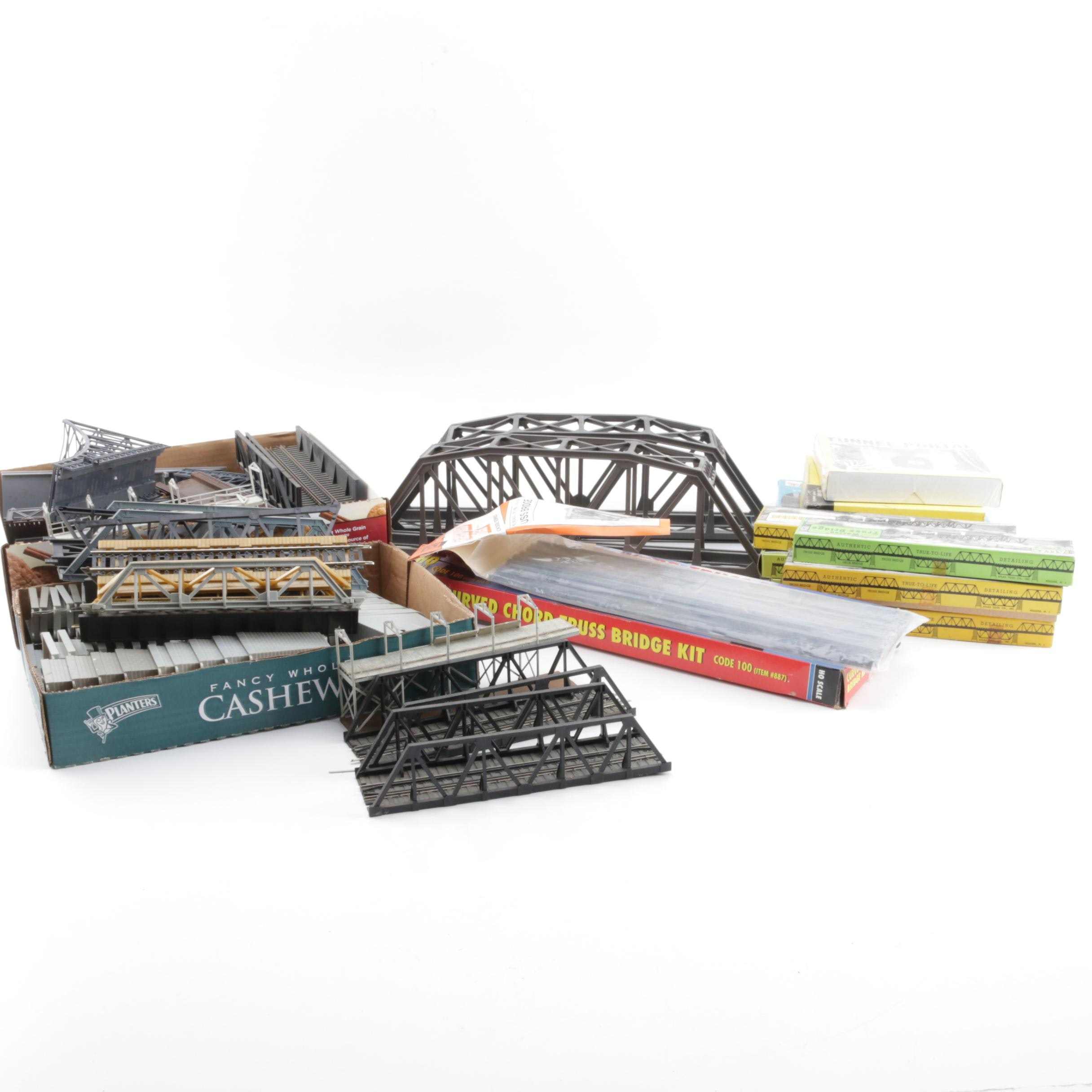 Assortment of Bridges for Model Railroads