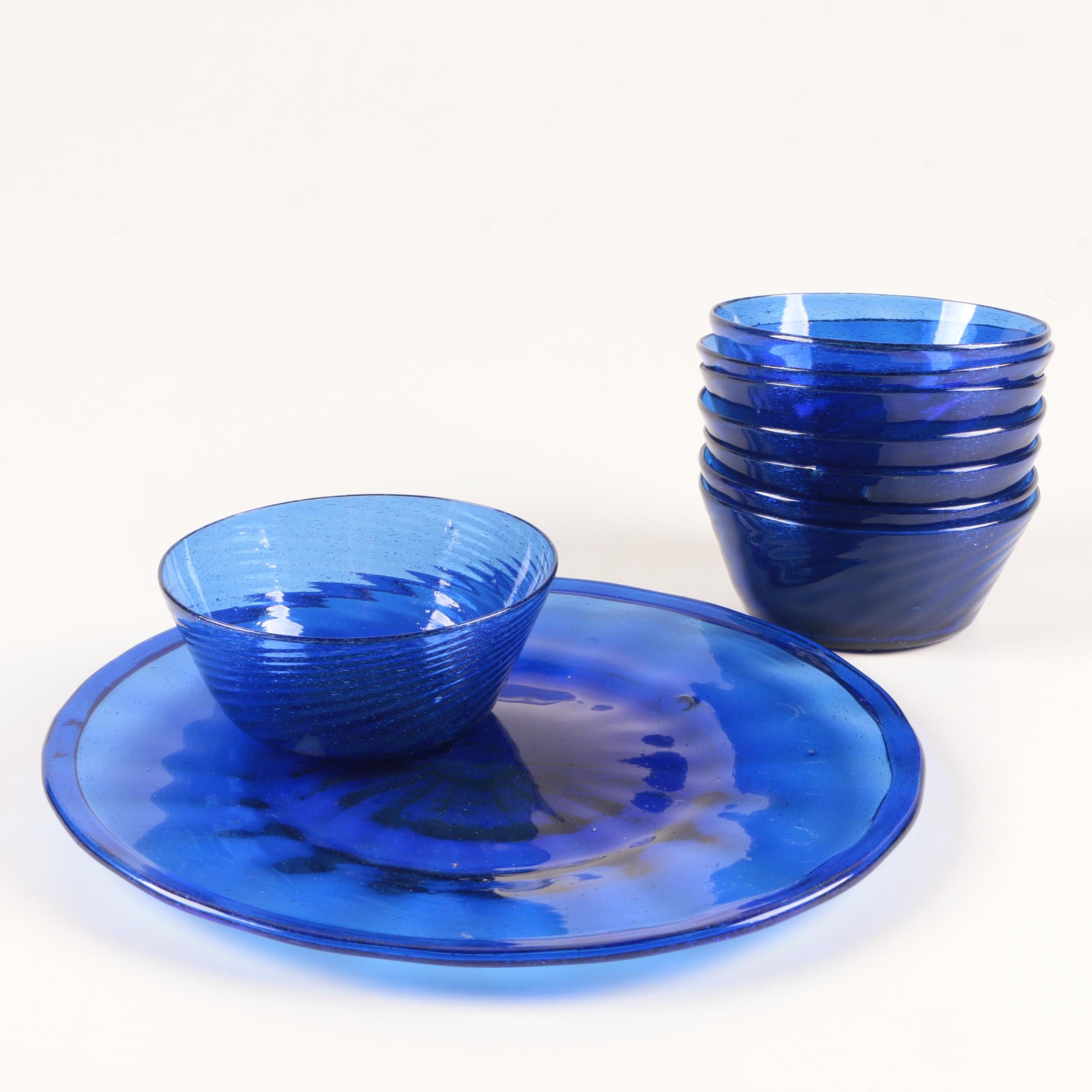 Blue Optic Glassware
