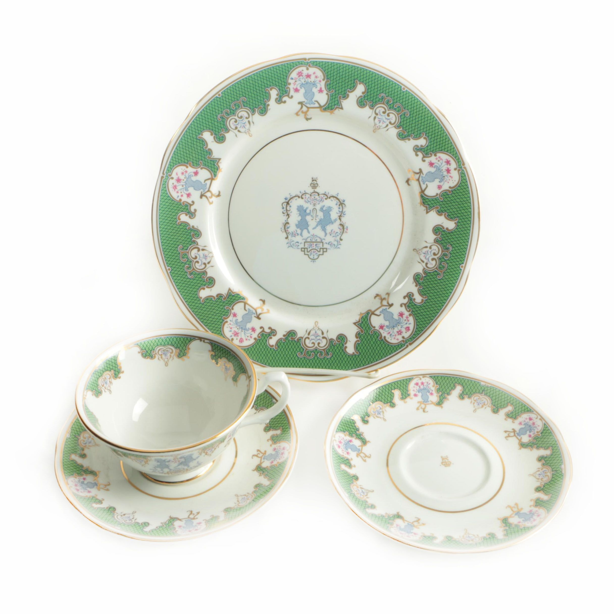 "1998 Royal Collection ""Buckingham Palace"" Serveware"