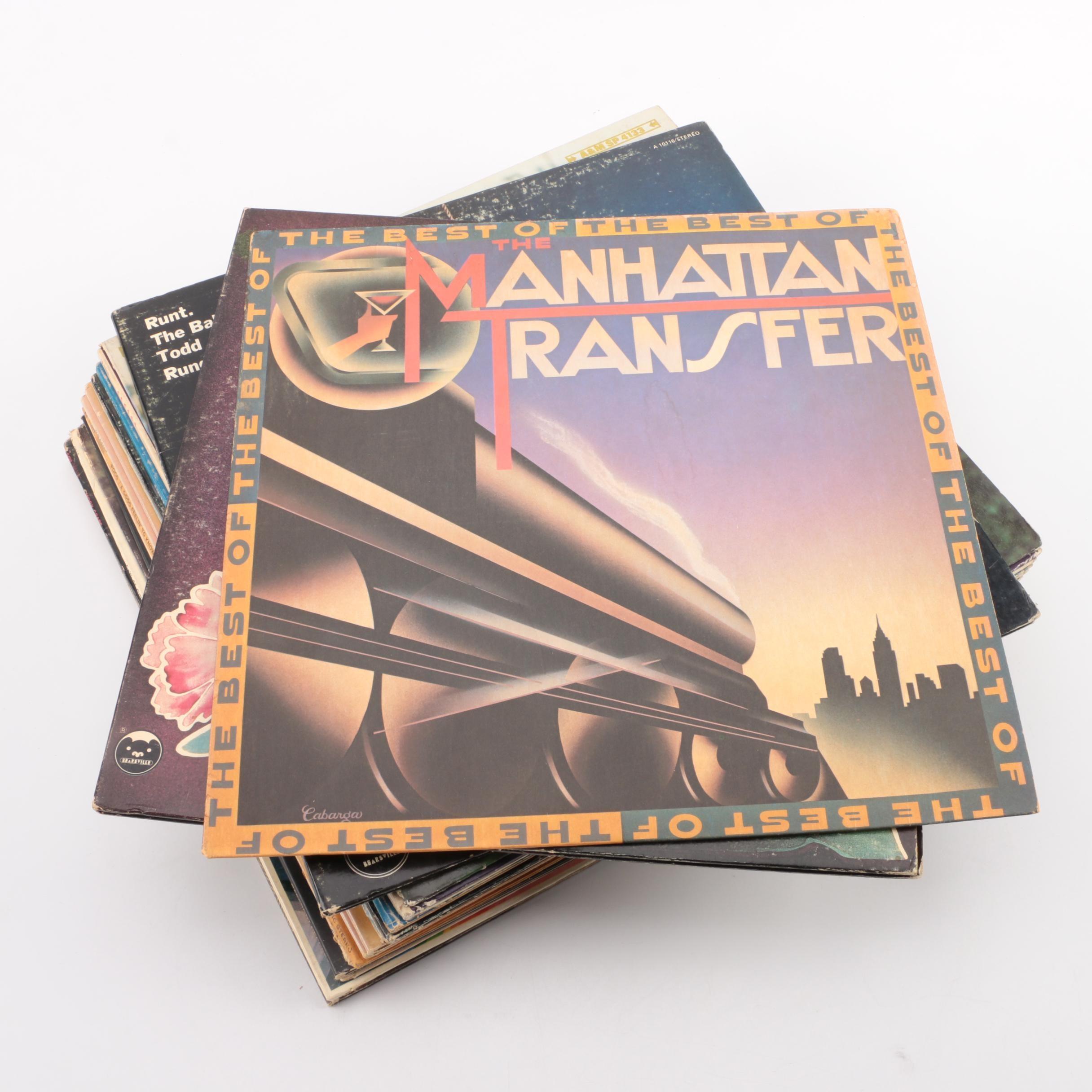 Todd Rundgren, Phil Ochs, Al Kooper and Other Rock and Folk LPs