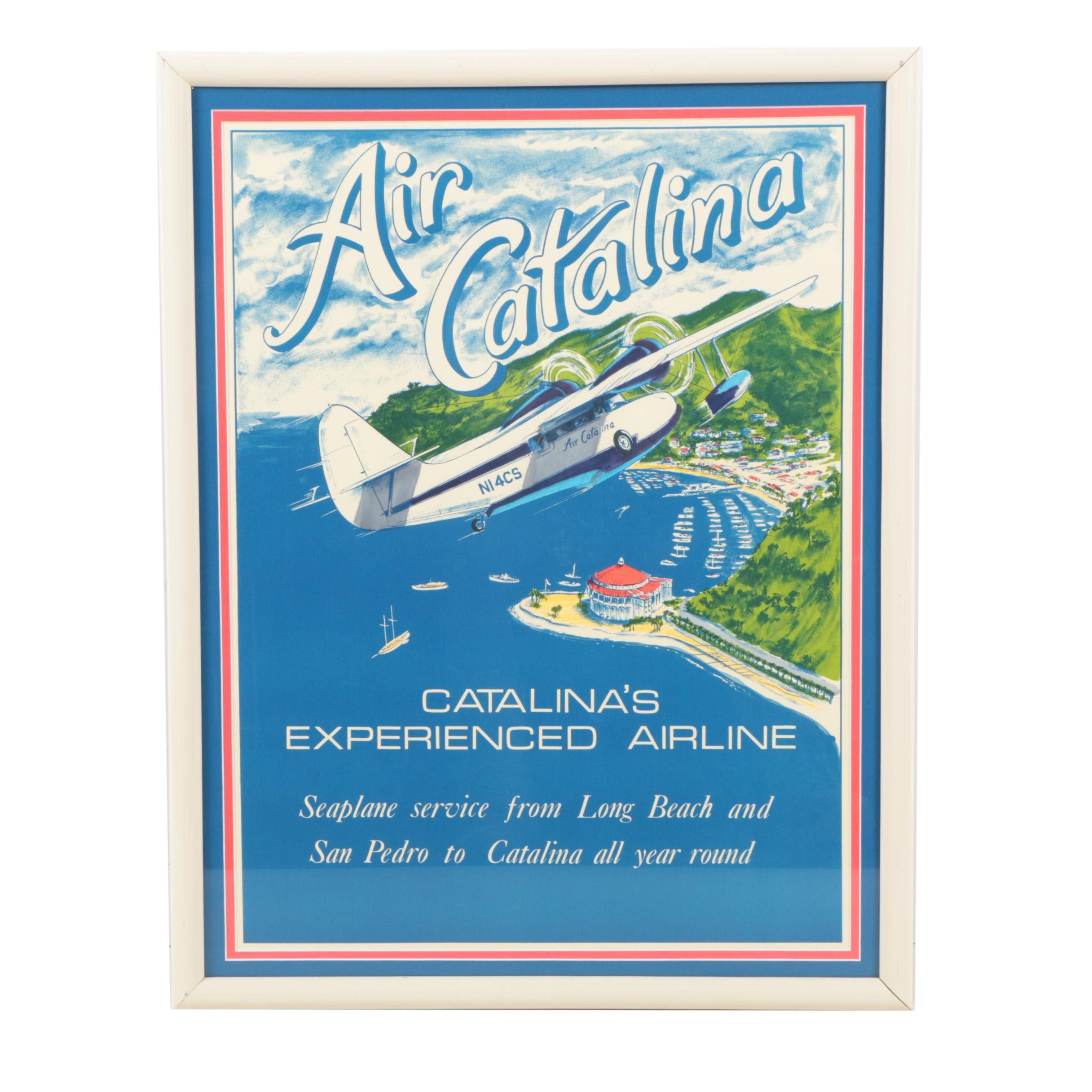 Vintage Air Catalina Seaplane Poster