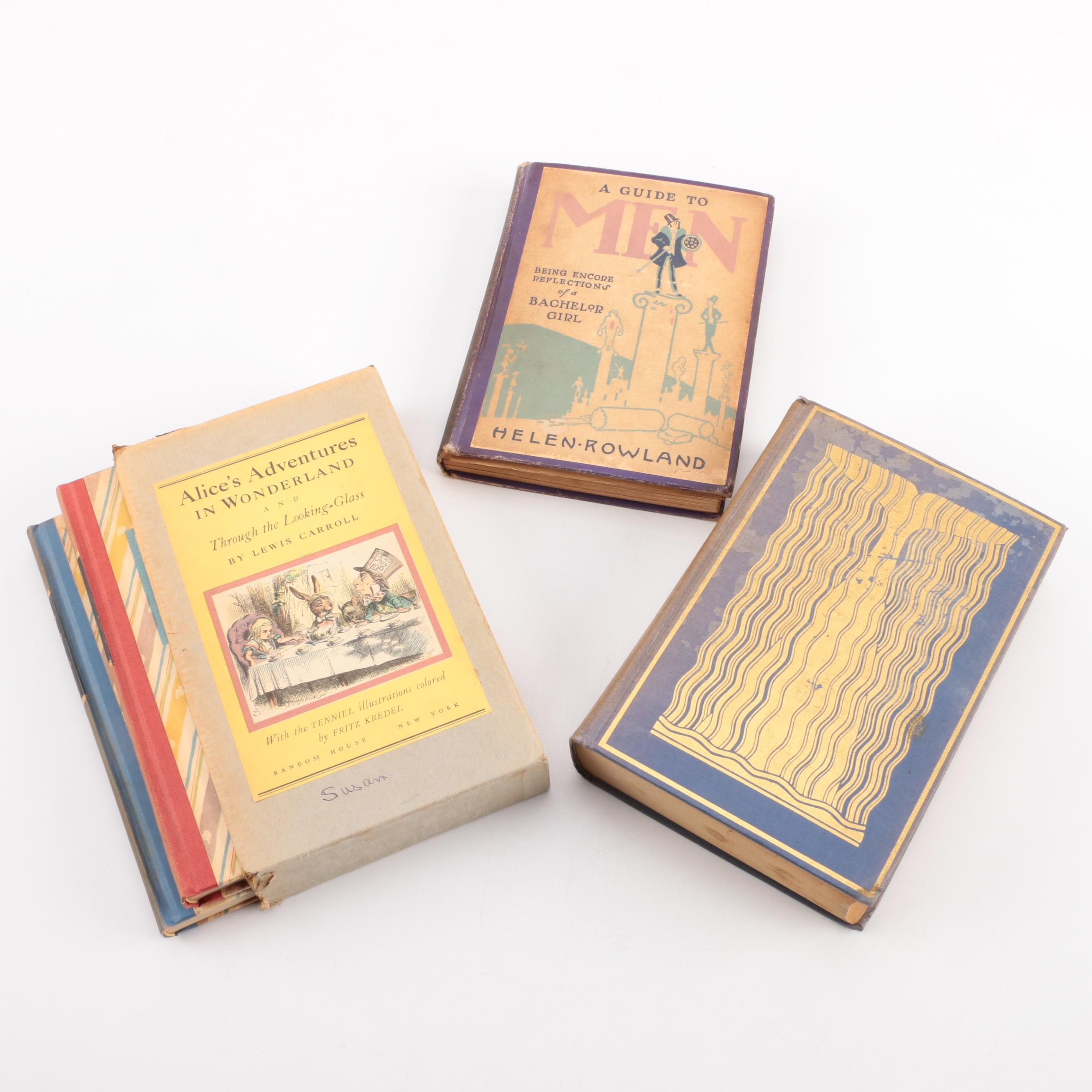 Assorted Vintage Hardcover Books