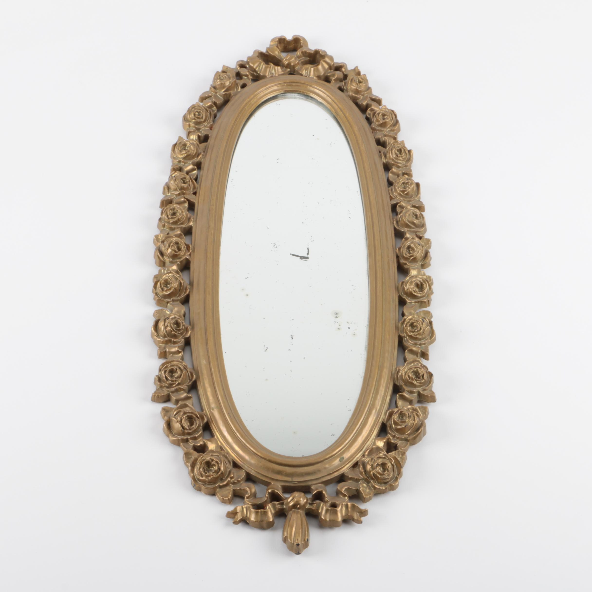 Vintage Victorian Style Accent Wall Mirror