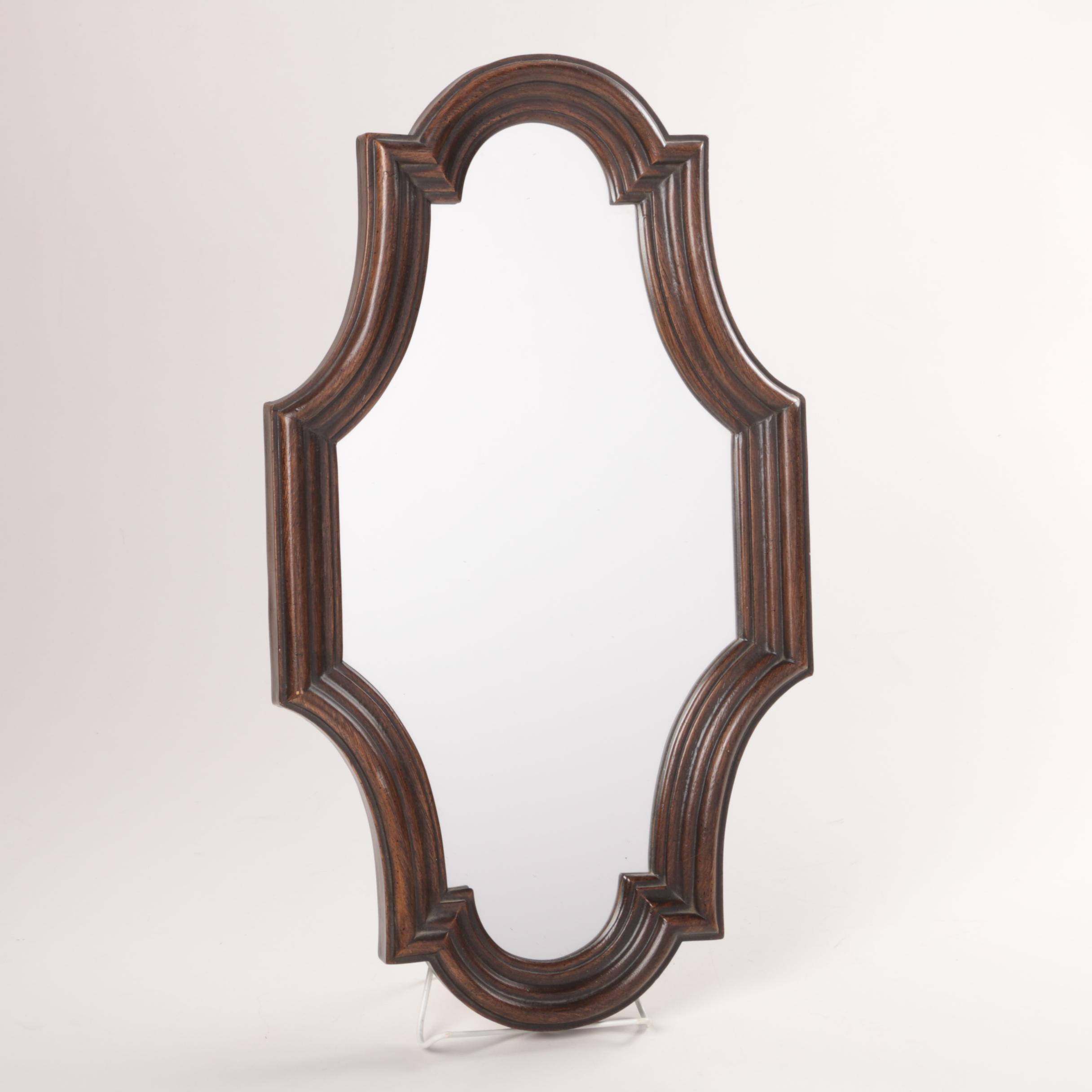 Vintage E.A. Riba Co. Wall Mirror