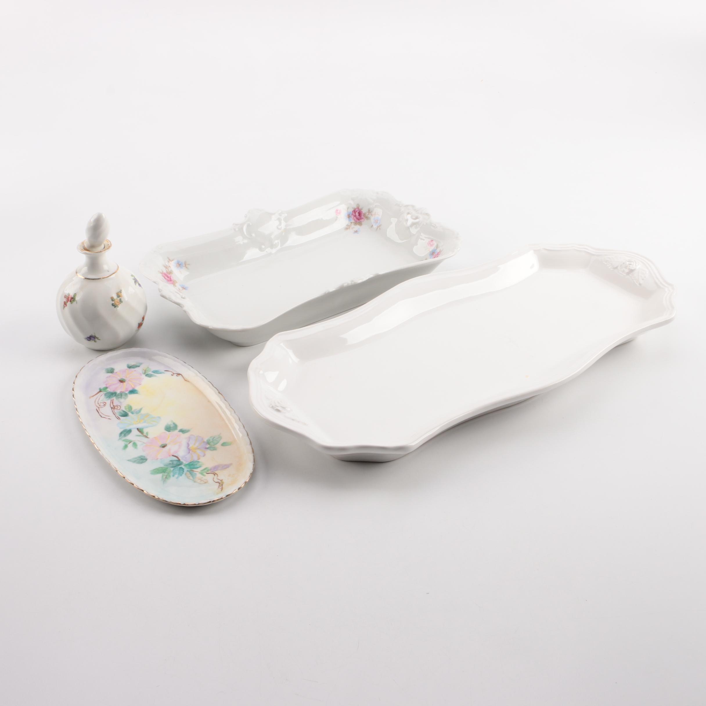 Vintage Porcelain Tableware and Decor