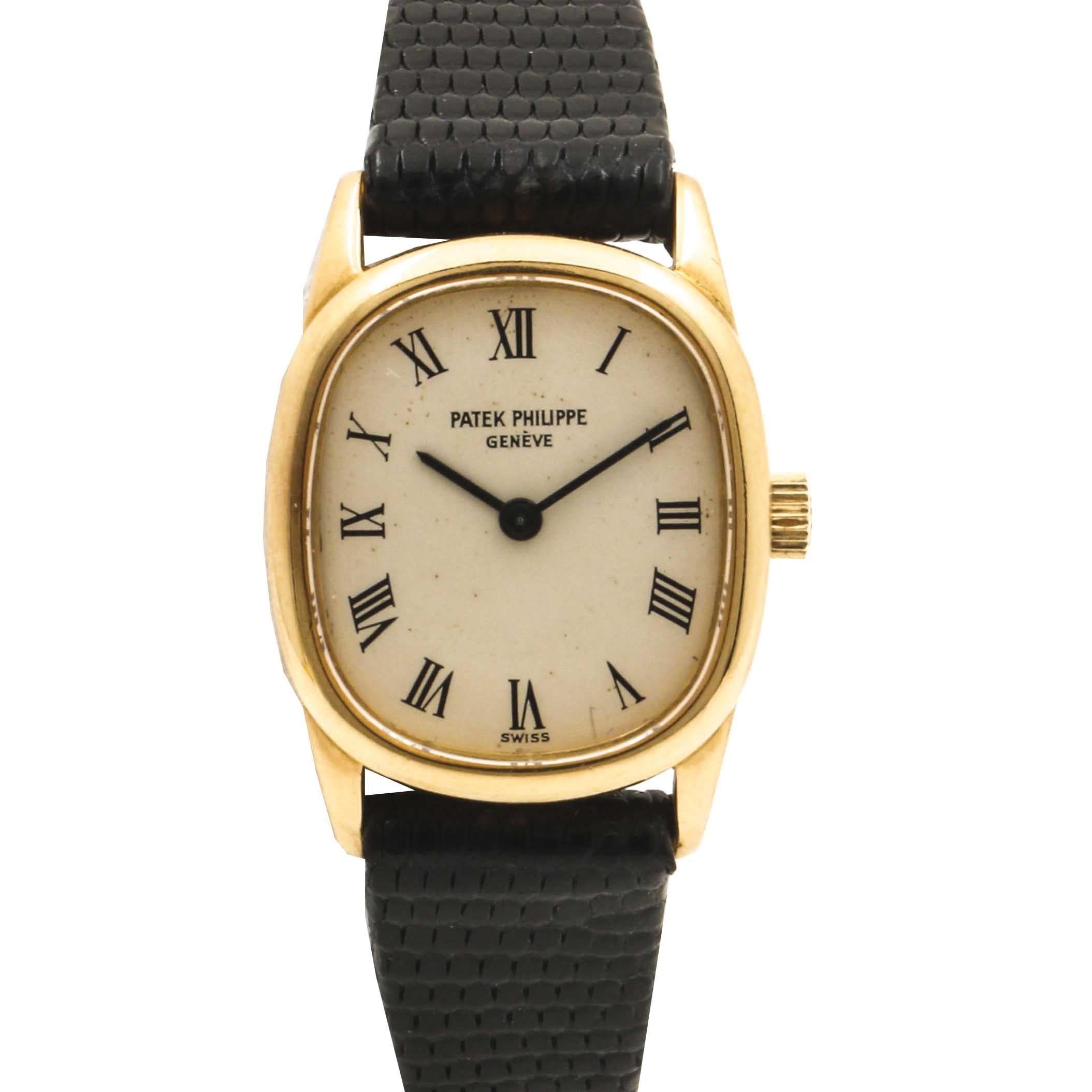 Patek Phillipe 18K Yellow Gold Wristwatch