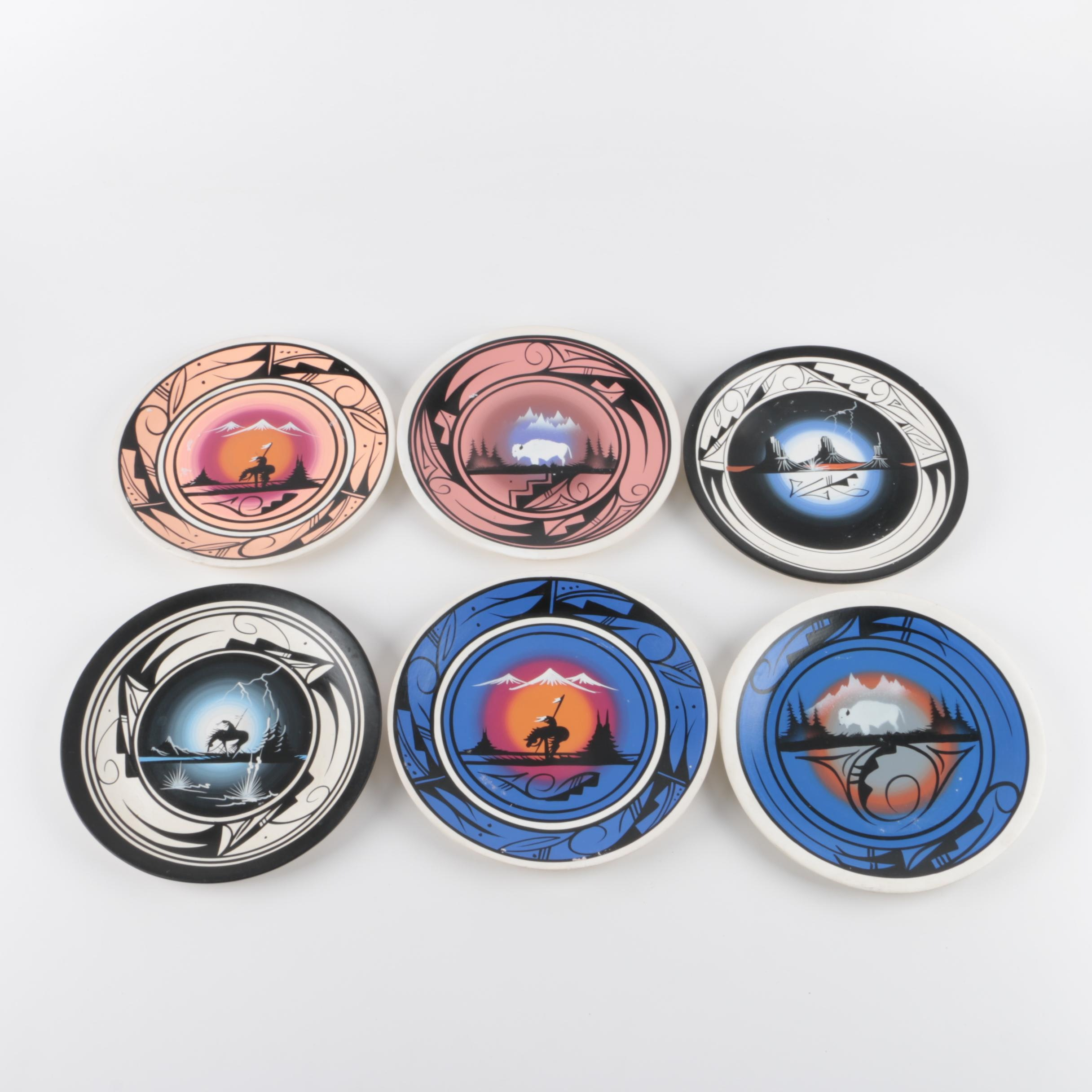 Cedar Mesa Navajo Decorative Plates