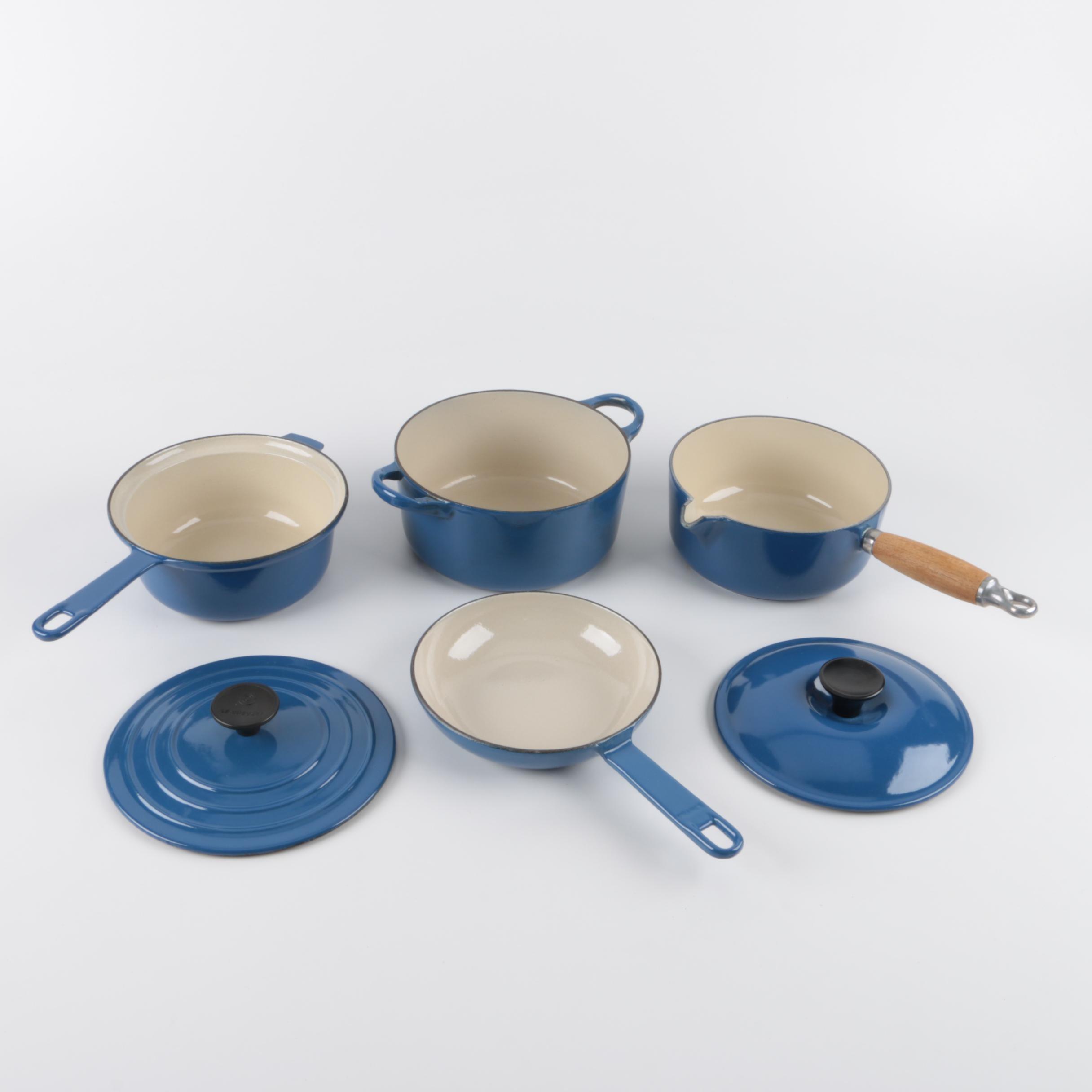 Le Creuset Blue Cast Enamel Cookware