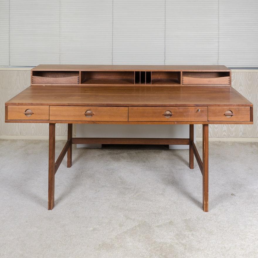 Mid Century Modern Desk: Vintage Mid Century Modern Desk By Maurice Villency : EBTH