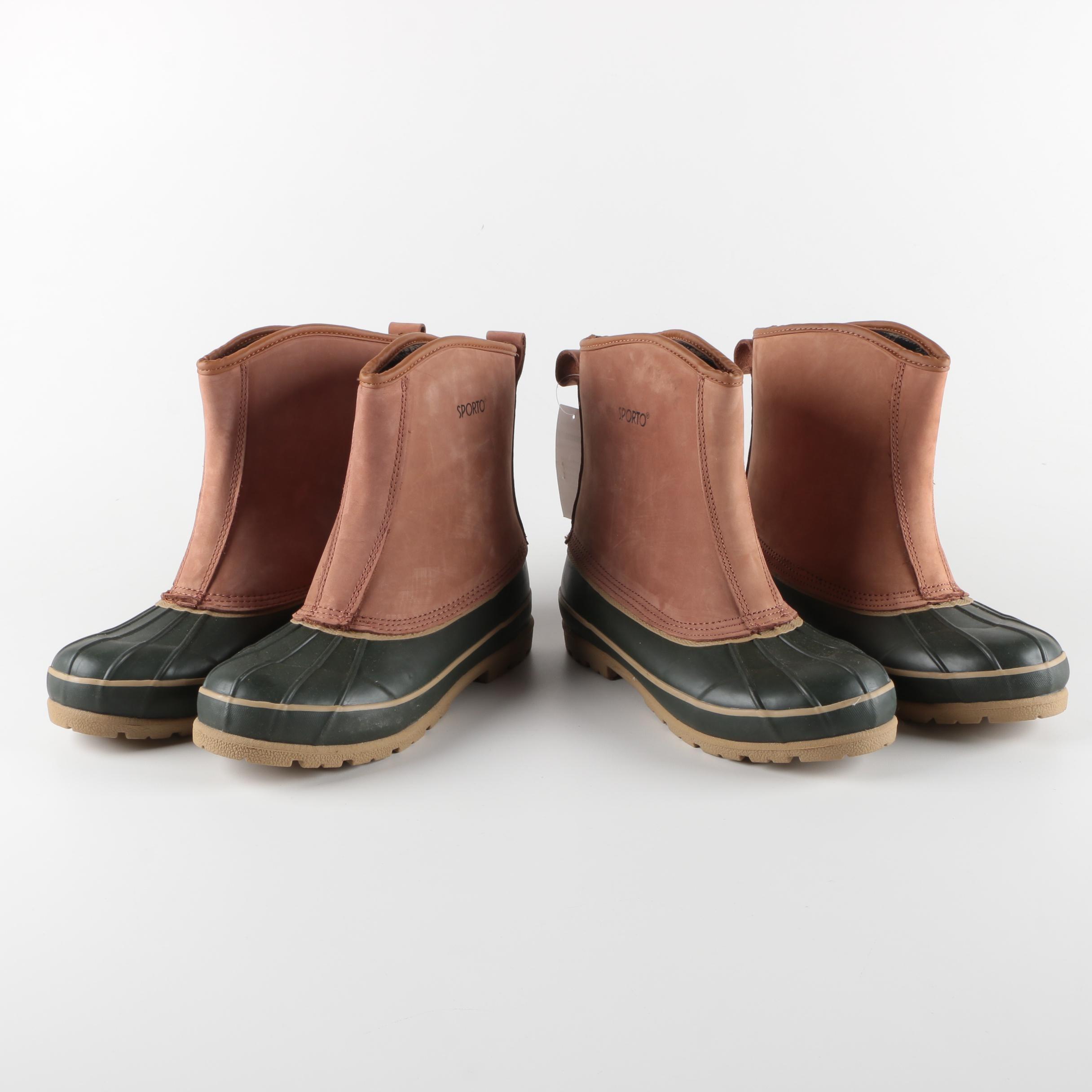 Men's Sporto Duck Boots