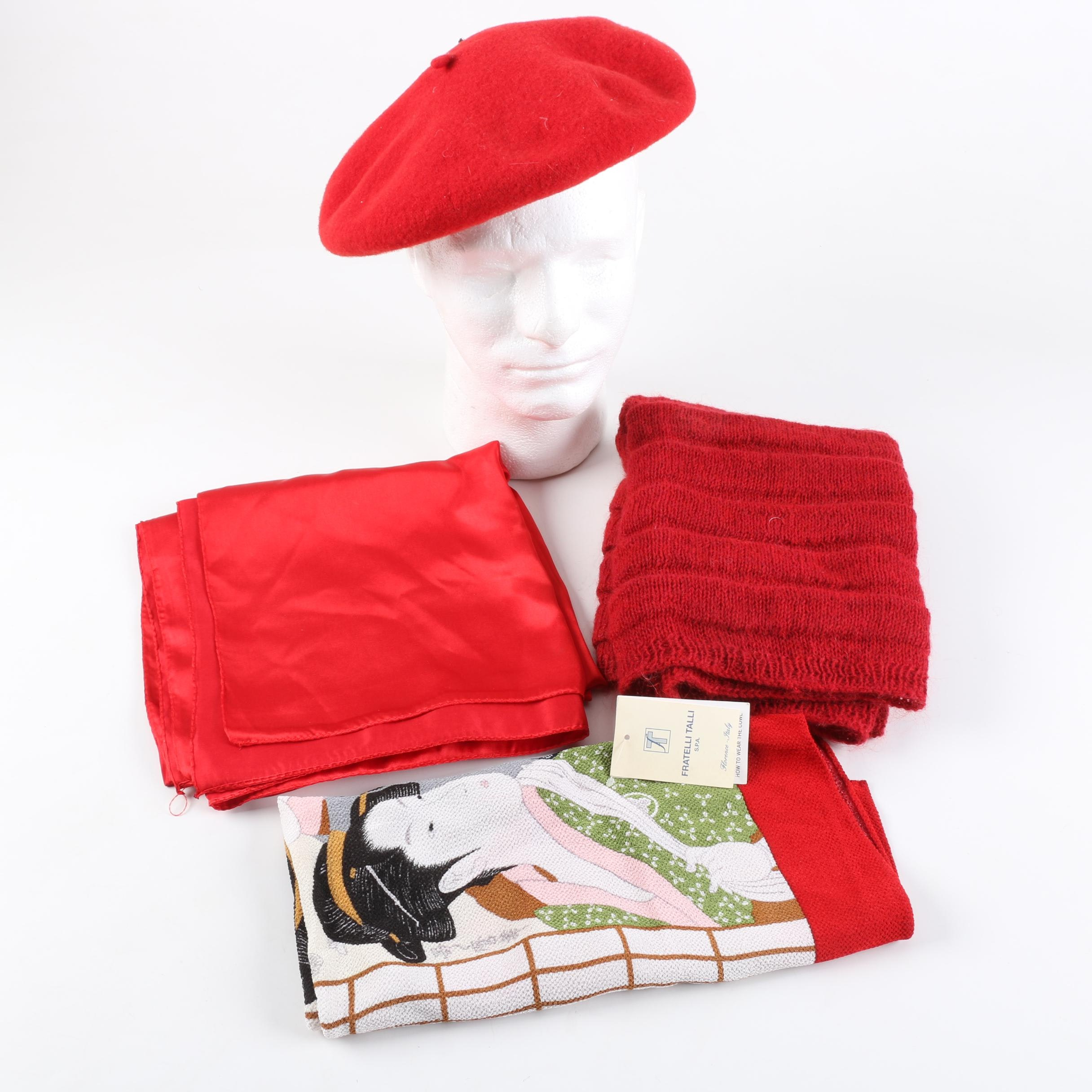 Women's Fashion Accessories and Japanese Furoshiki Wrapping Cloth
