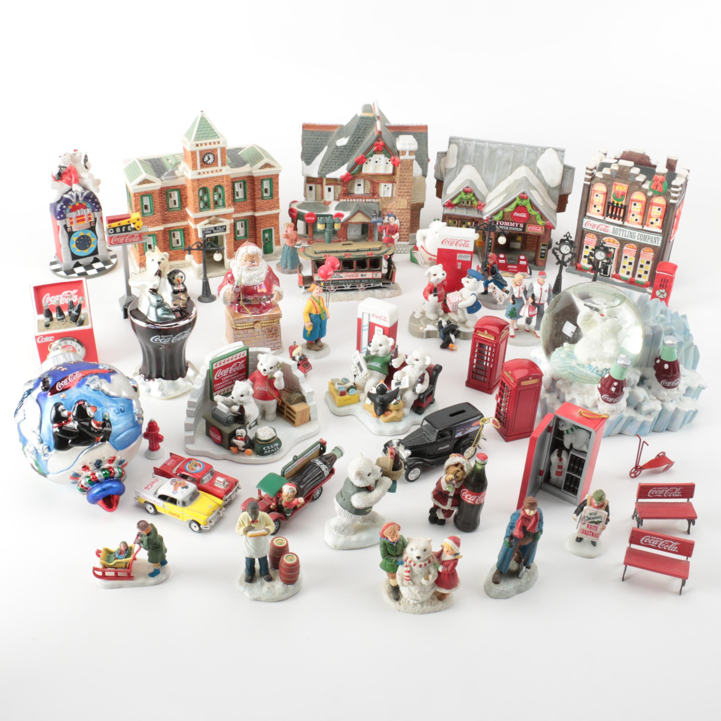 Christmas Village and Other Holiday Decor