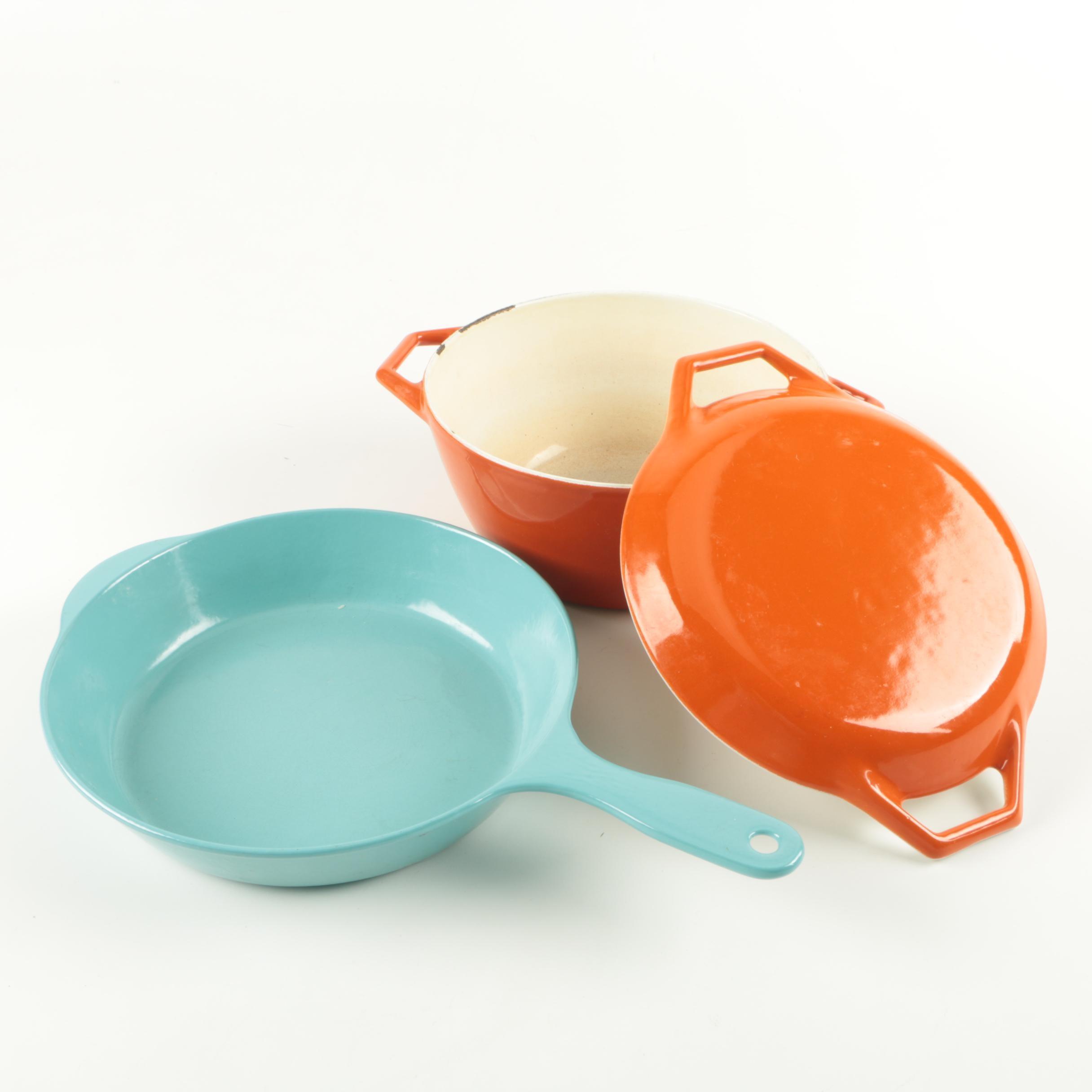 Vintage Prizer-Ware and Copco Cast Enamel Cookware