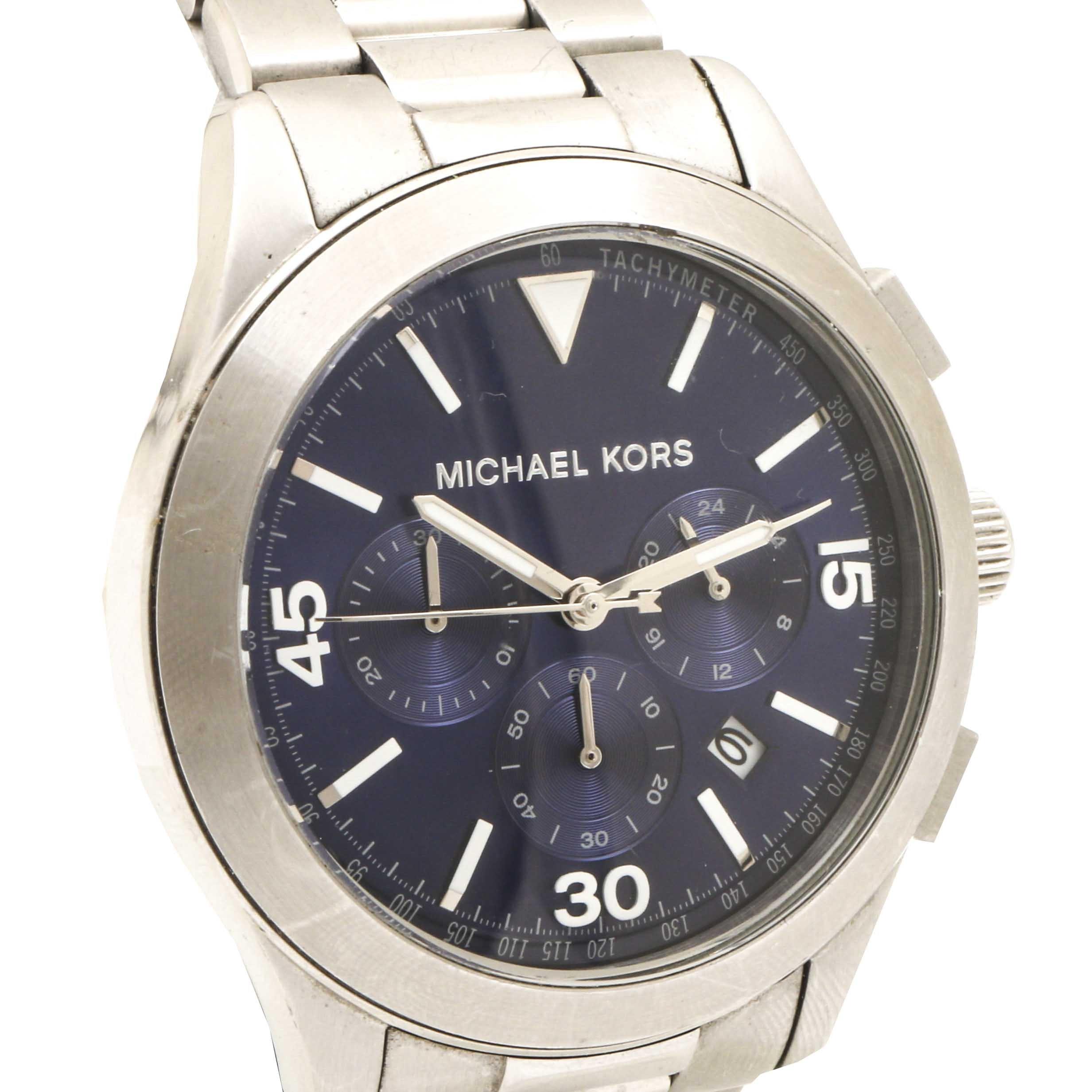 Michael Kors Stainless Steel Quartz Wristwatch