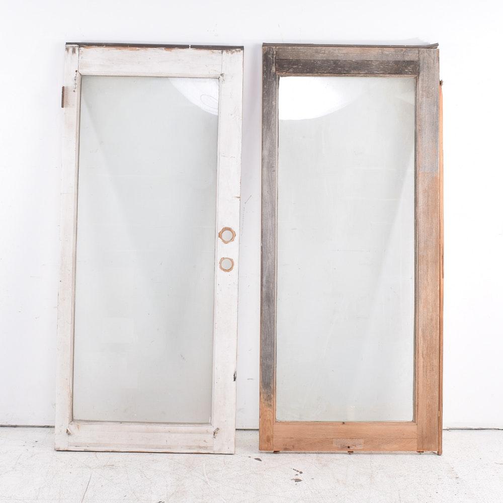 Vintage Glass Doors