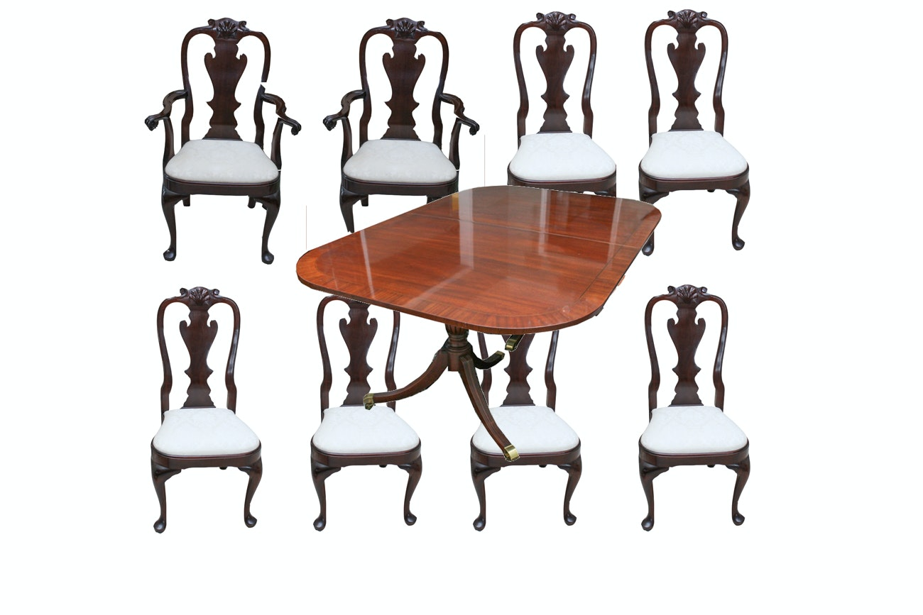 Dining Table And Twelve Chairs ...