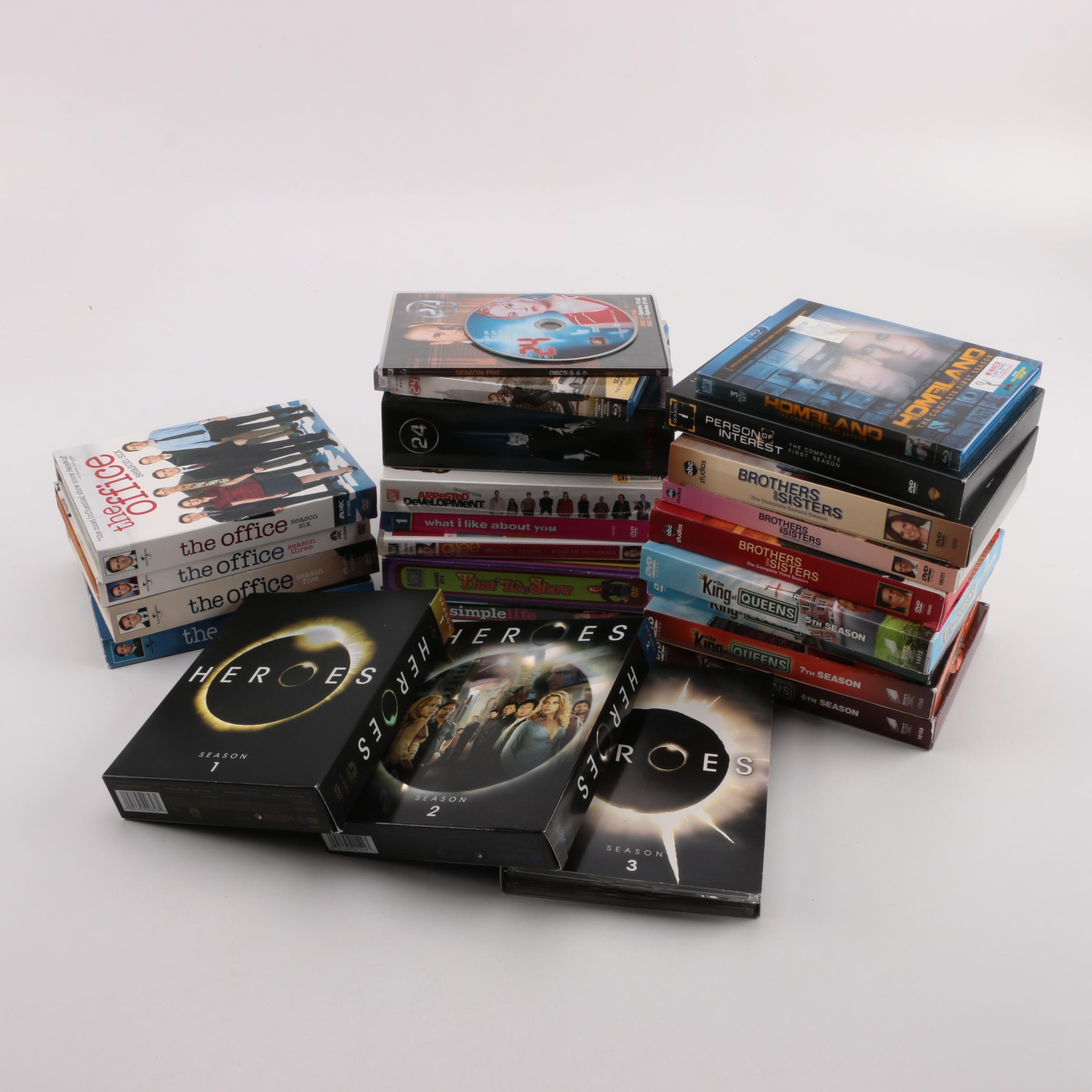 """Heroes"", ""The Office"", ""24"" and other Television Series DVDs"