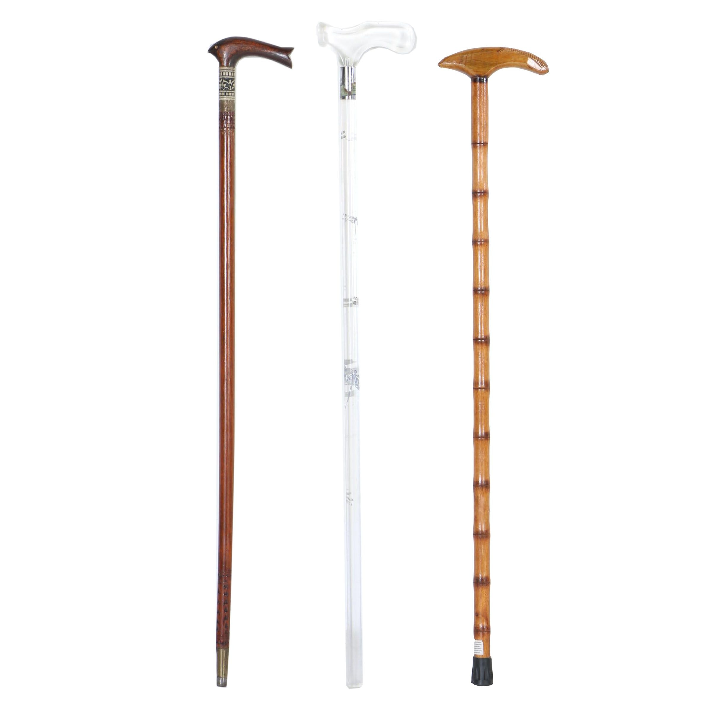 Collection of Walking Sticks