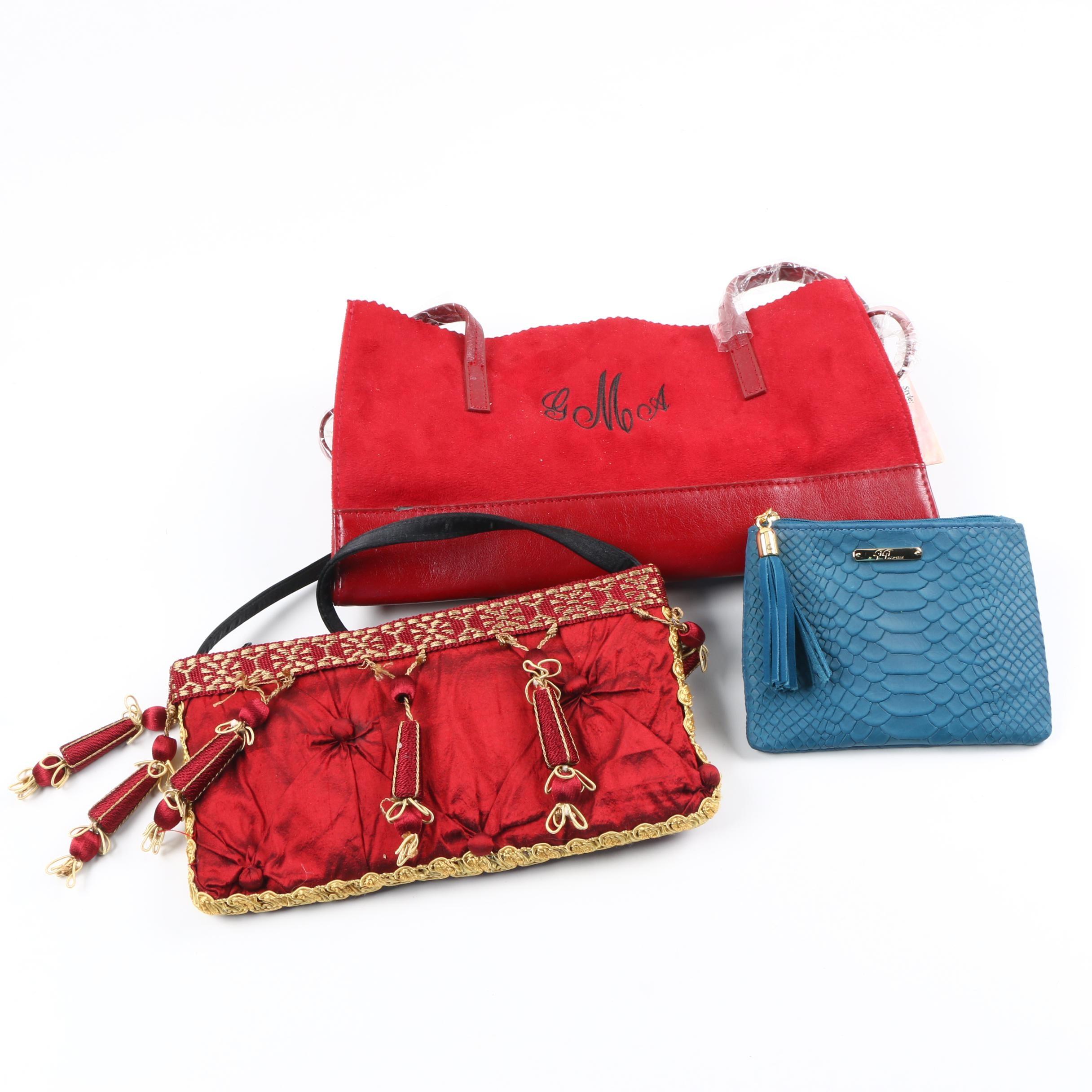 Handbags and GiGi Change Purse