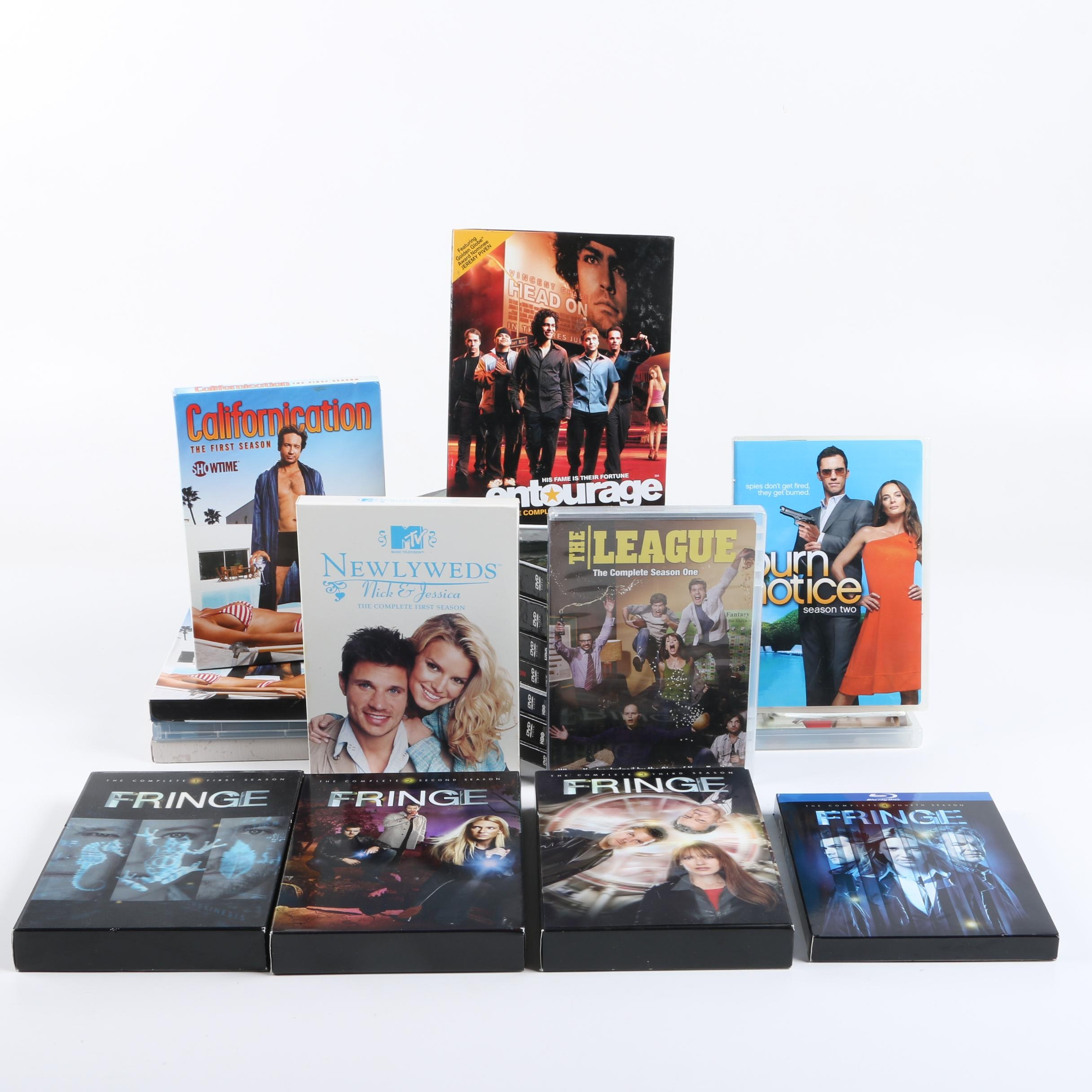"""Entourage"", ""Californication"", ""Fringe"" and Other Television Series DVDs"