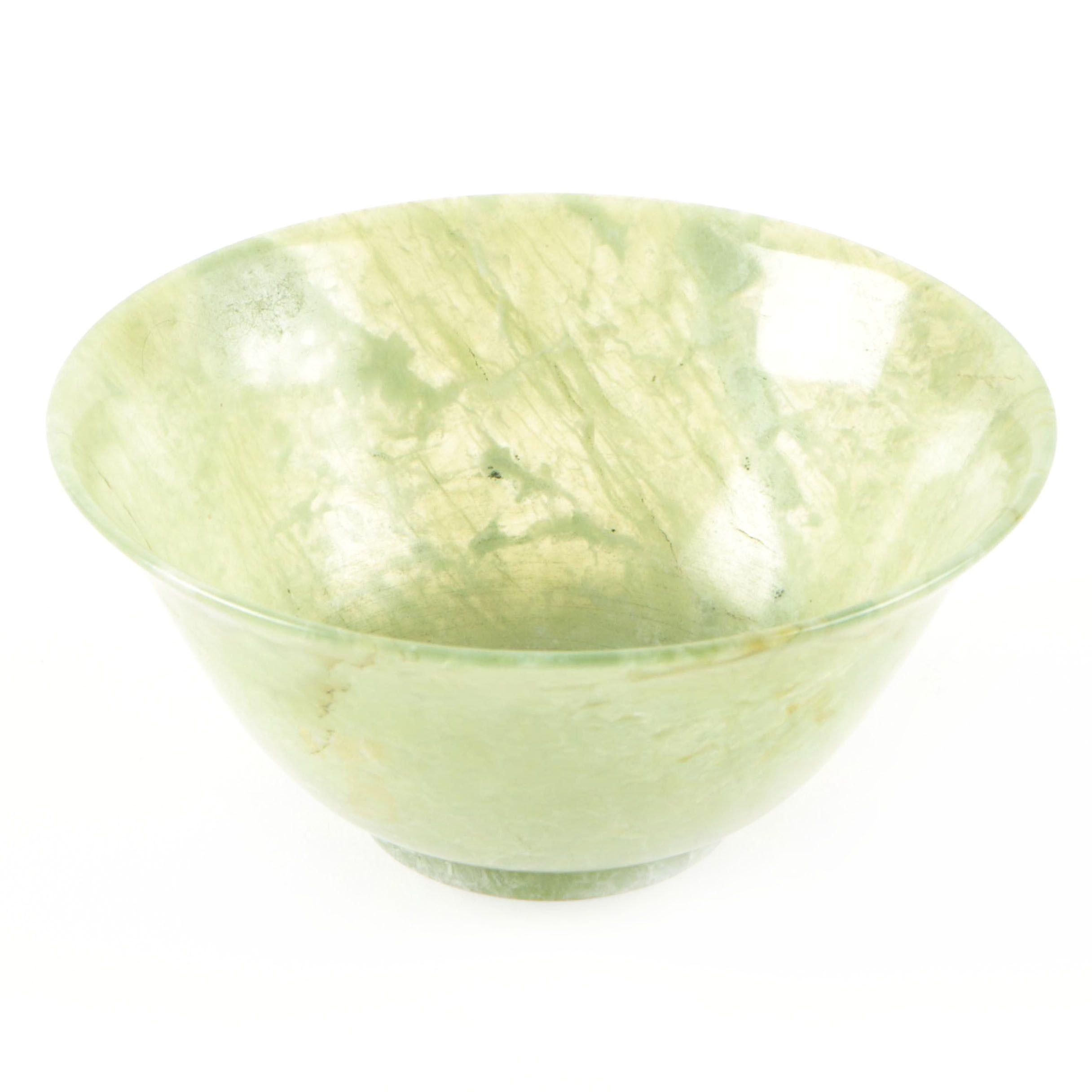 Chinese Bowenite Bowl