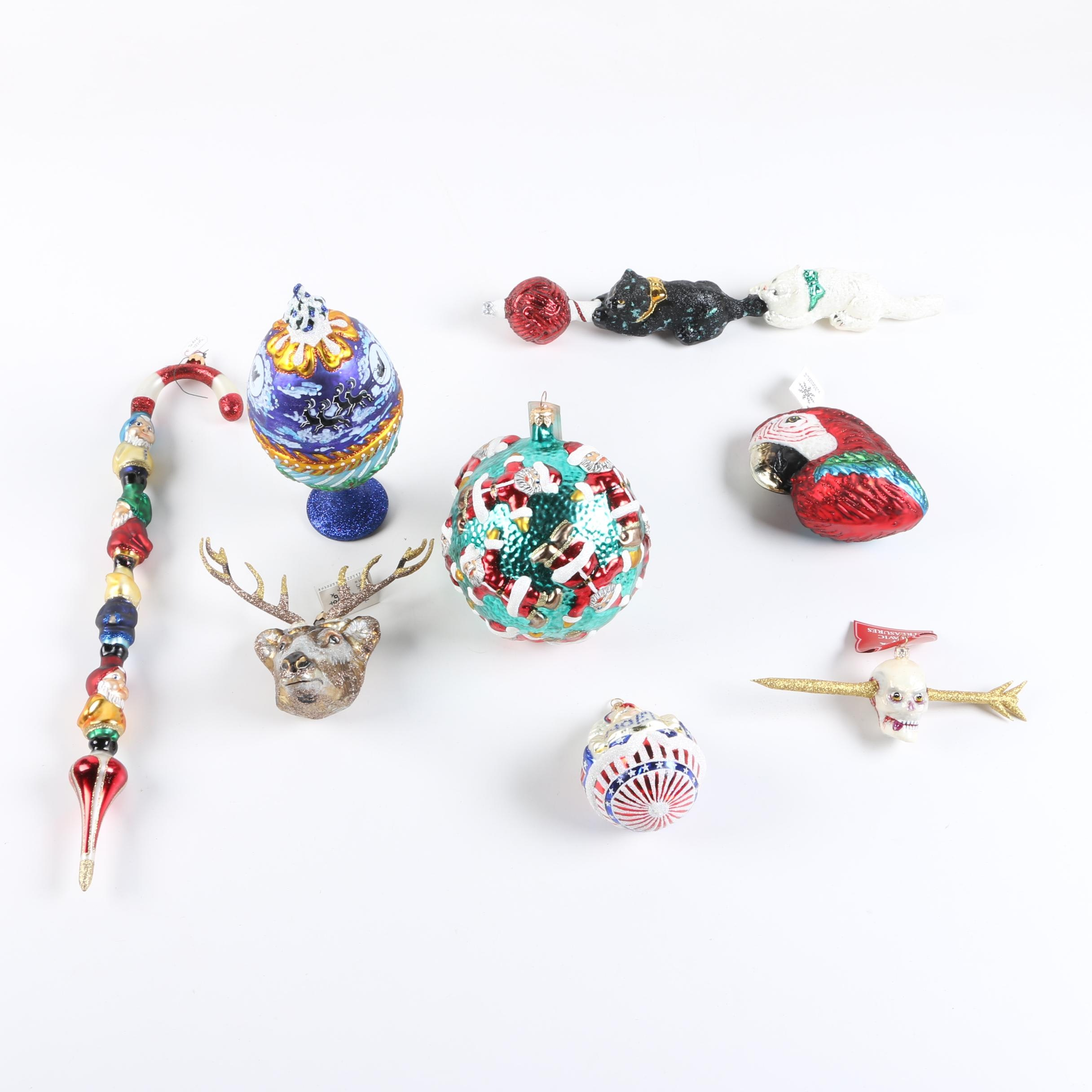 Slavic Treasures Blown Glass Ornaments and Decor