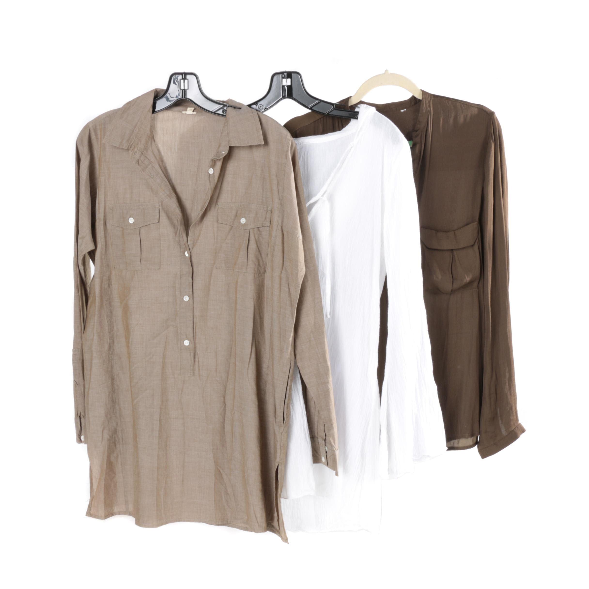 Women's Casual Shirts Including J. Crew