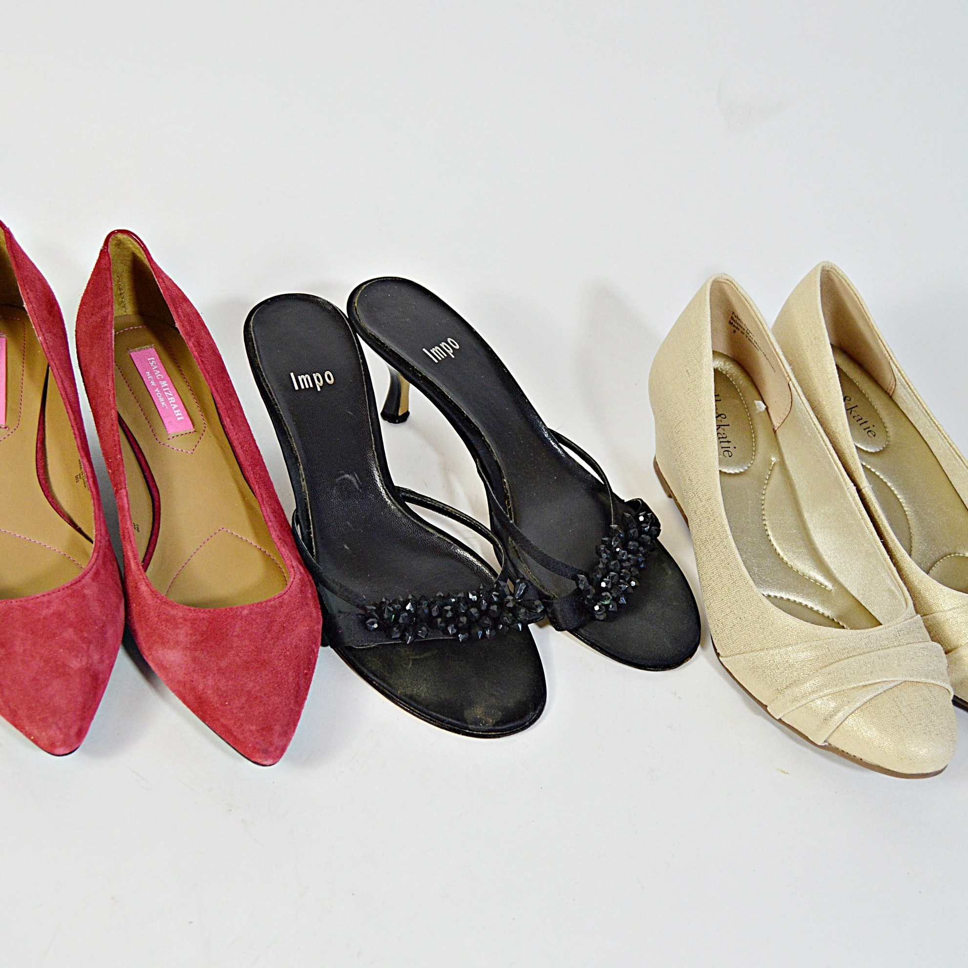Isaac Mizrahi, Impo and Kelly & Katie Shoes, 8M and 9M