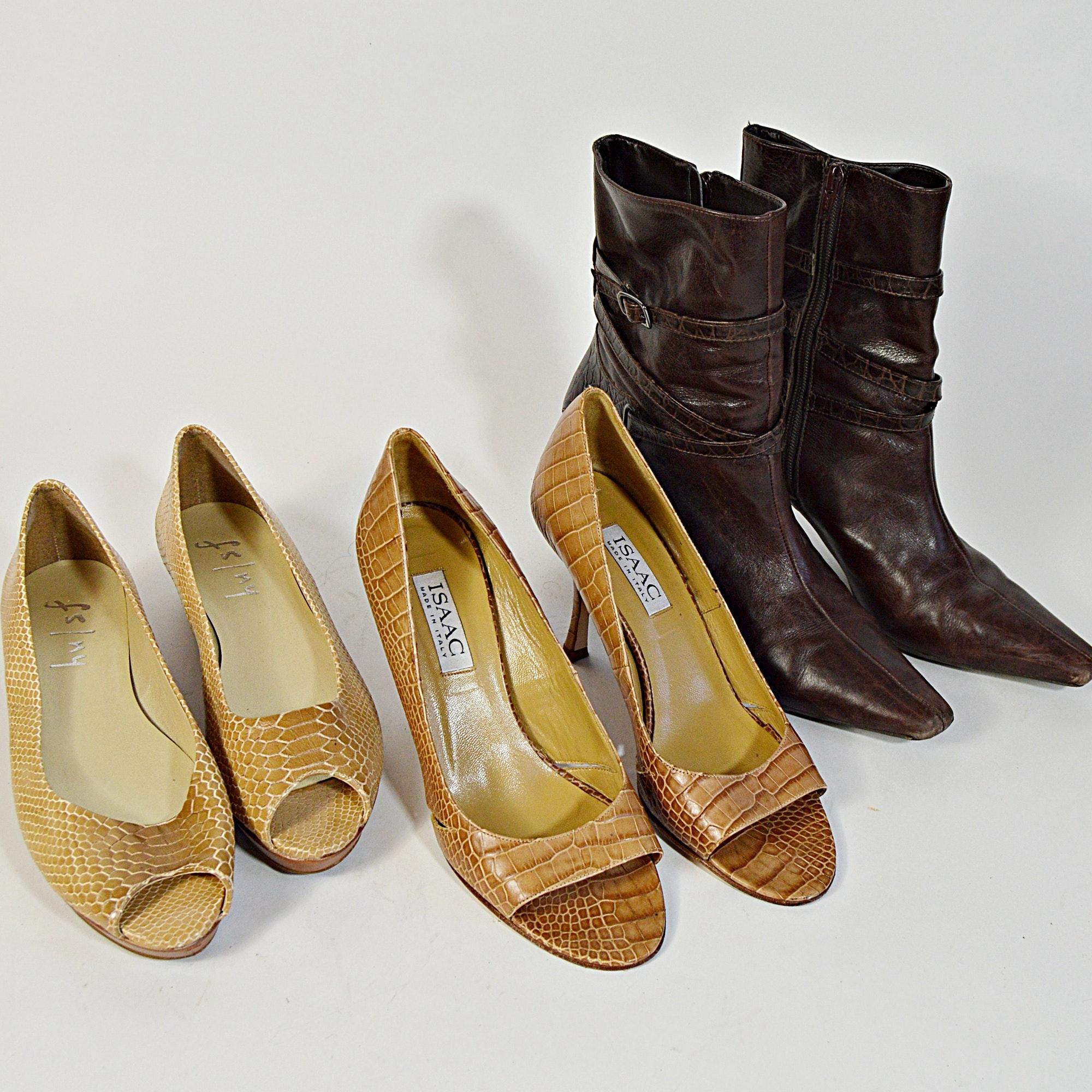 FS/NY, Isaac Shoes and Antonio Melani Short Boots