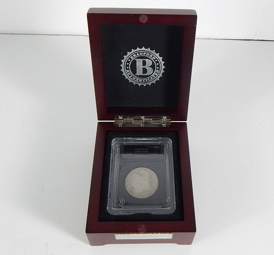1810 Capped Bust Half Dollar Coin from the Bradford Mint