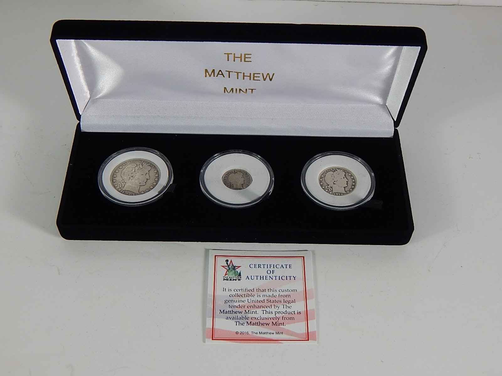Collection of 1913-1914s Coins