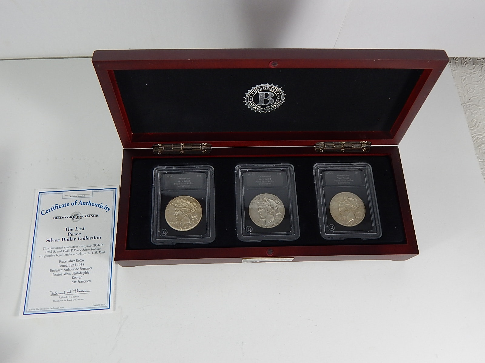 The Last Peace Silver Dollar Collection