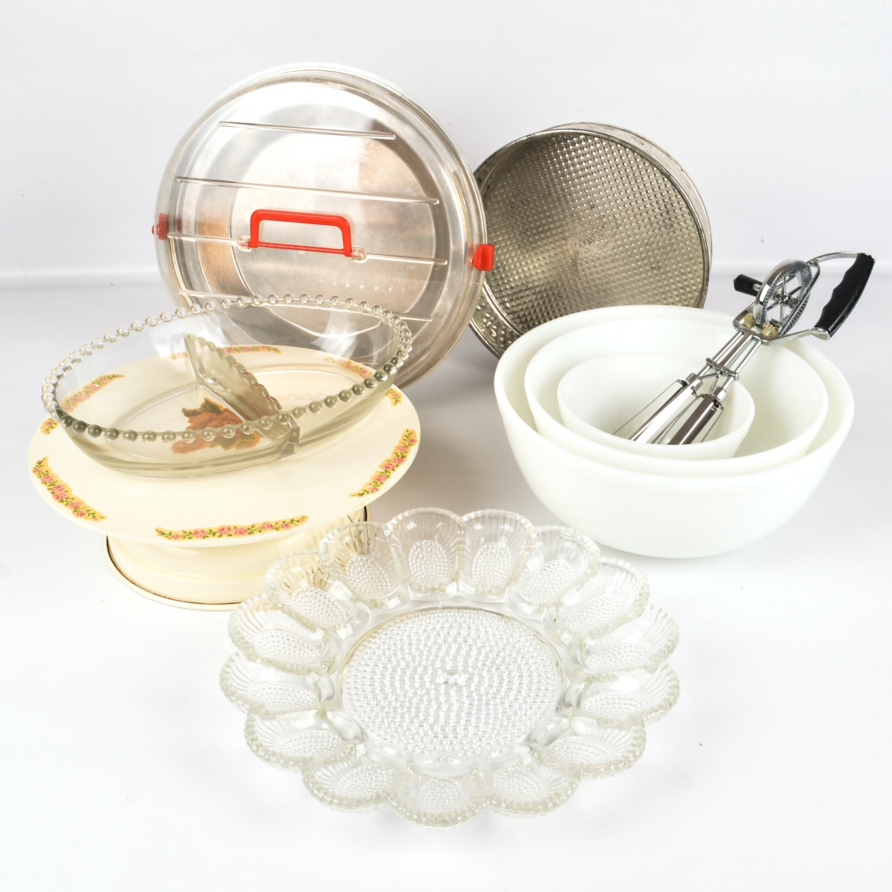 Vintage Kitchenalia Including a Musical Cake Stand and More