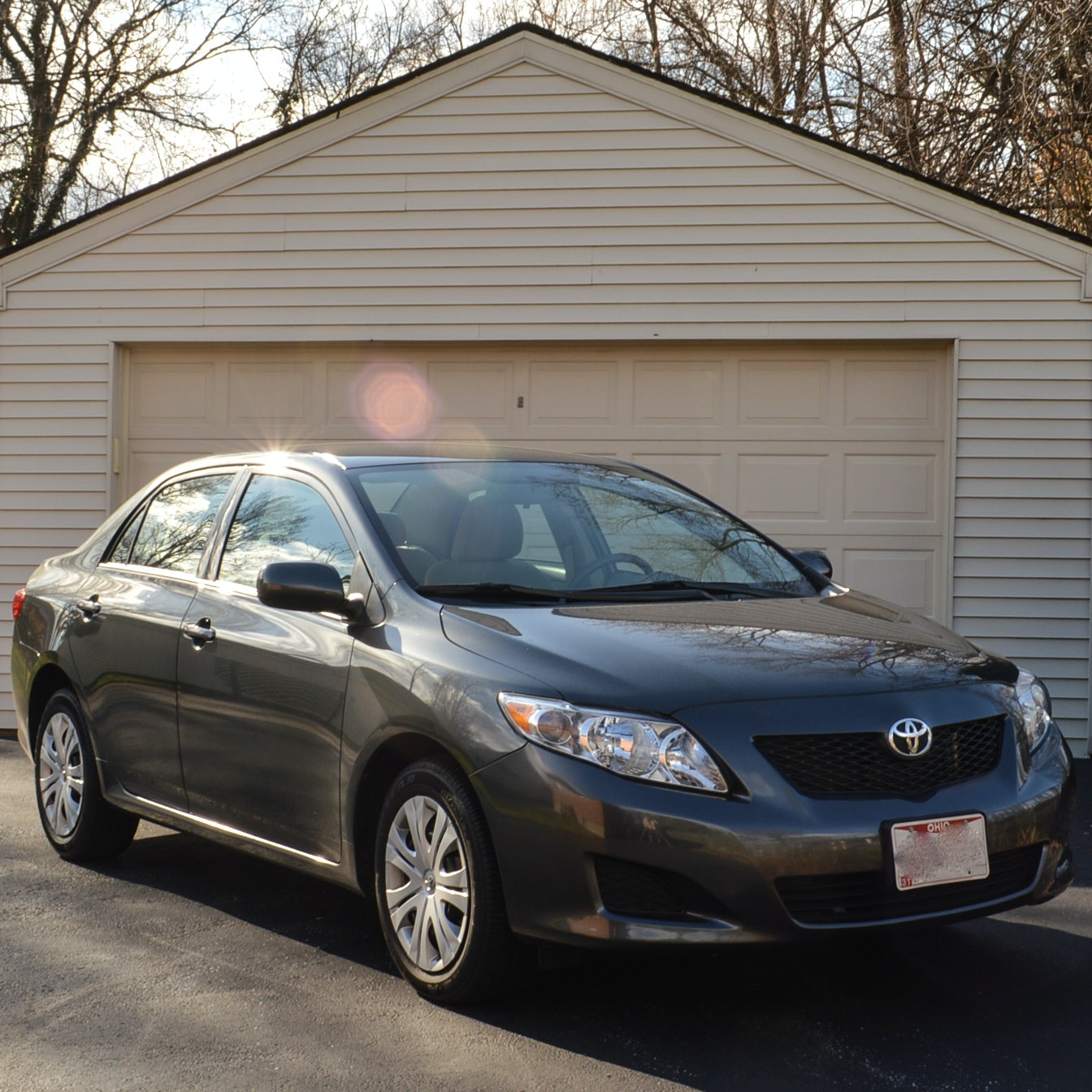 2010 Toyota Corolla LE 4-Door Sedan With 9,513 Original Miles