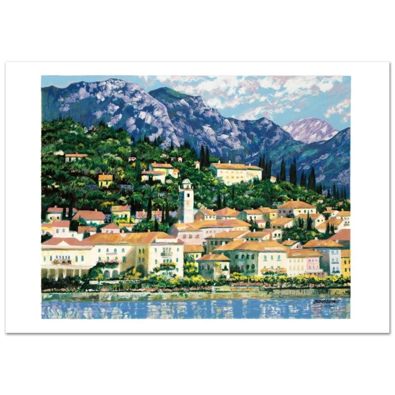"""Bellagio Hillside"" Limited Edition Serigraph by Howard Behrens"