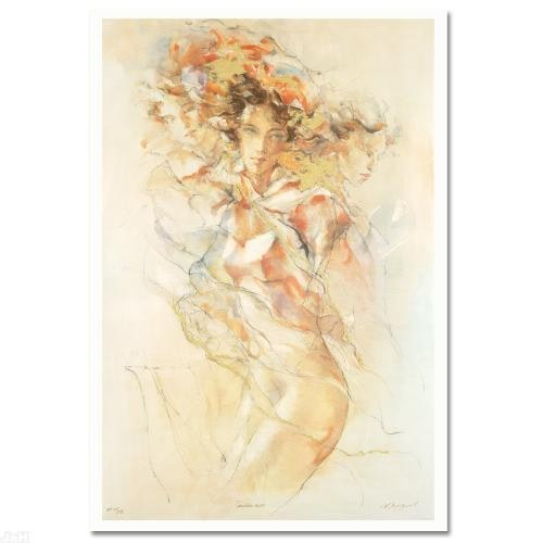 """""""Tenderness"""" Serigraph by Gary Benfield"""