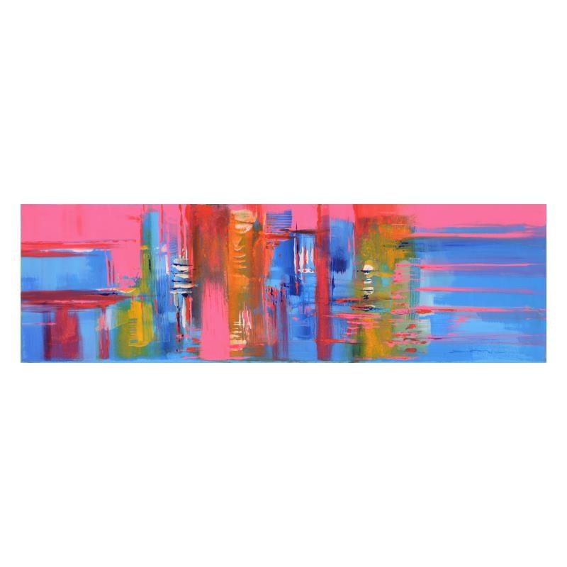 """Tramonto Sunset"" Original Oil Painting"
