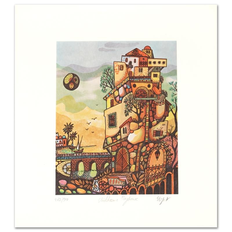 """""""Children's Playhouse"""" Limited Edition Lithograph"""