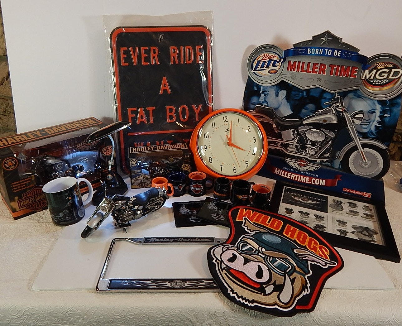 Harley Davidson Home Decor And Collectibles ...