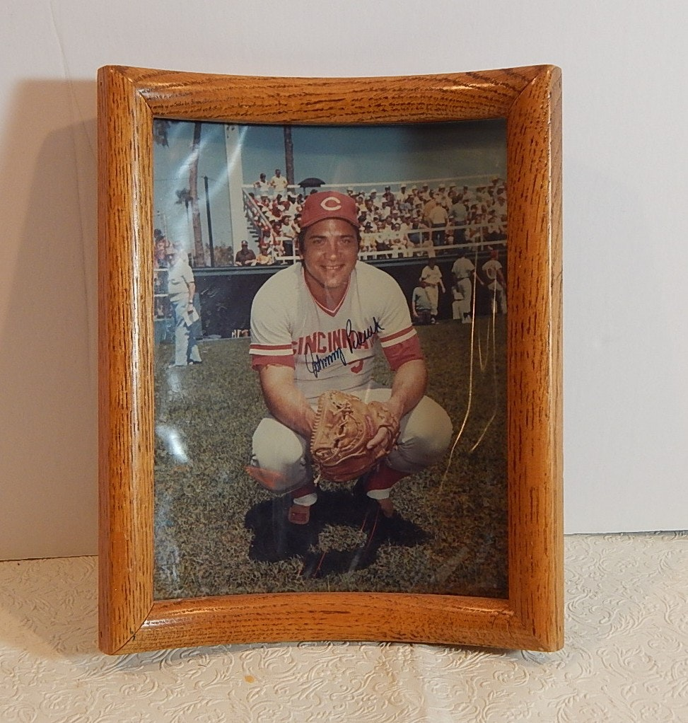 Johnny Bench Autographs Photograph