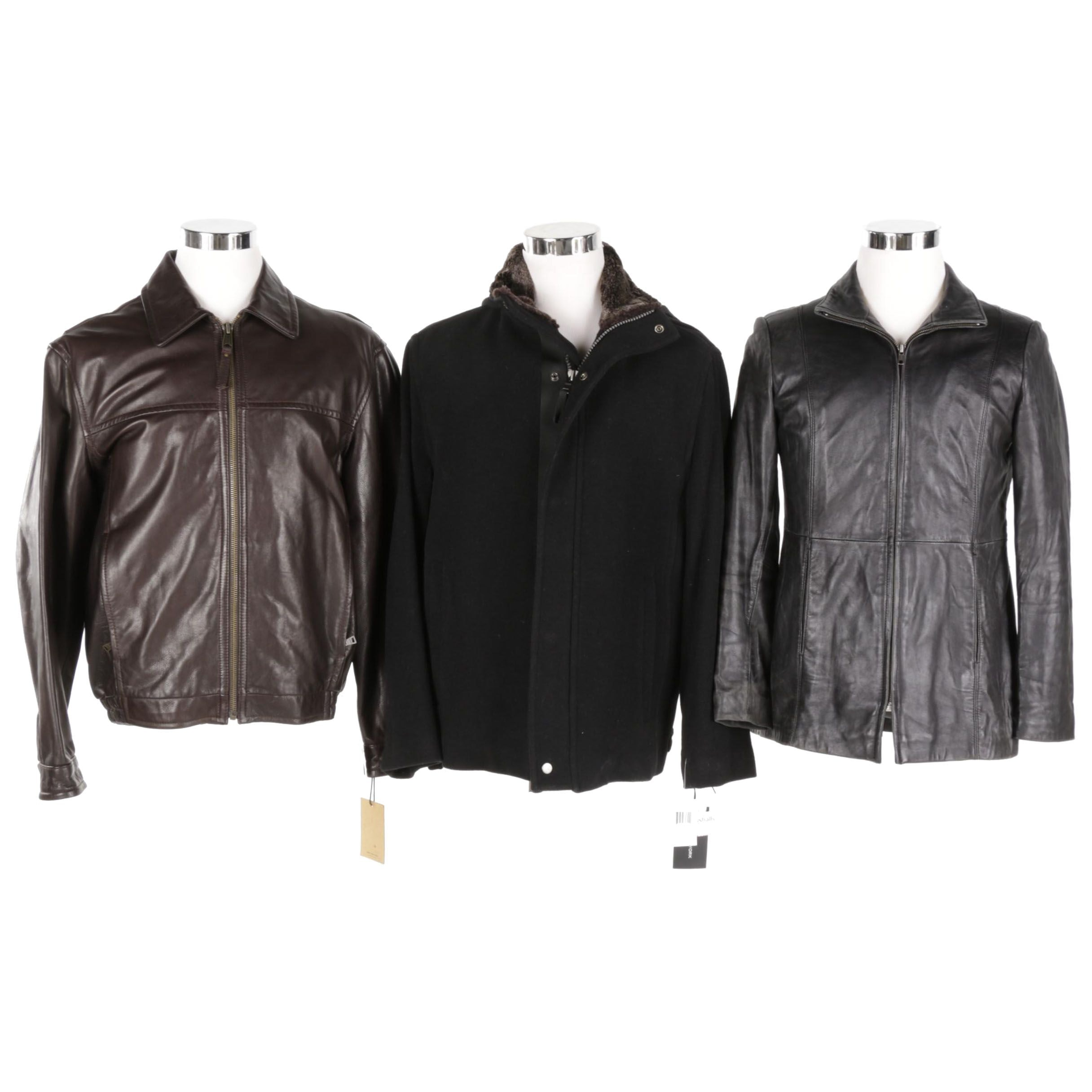 Men's Jackets Including Marc New York