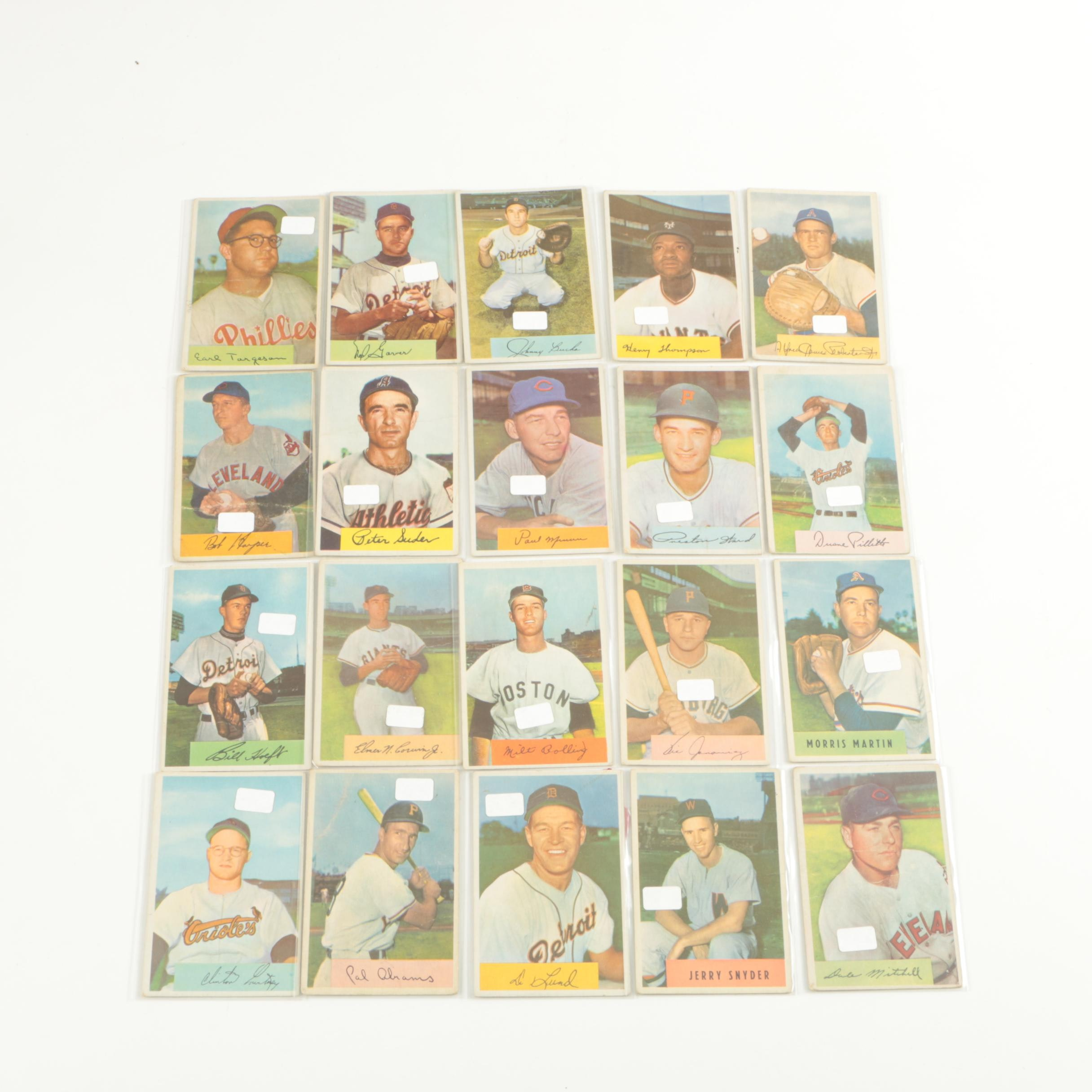 1954 Bowman Baseball Trading Cards