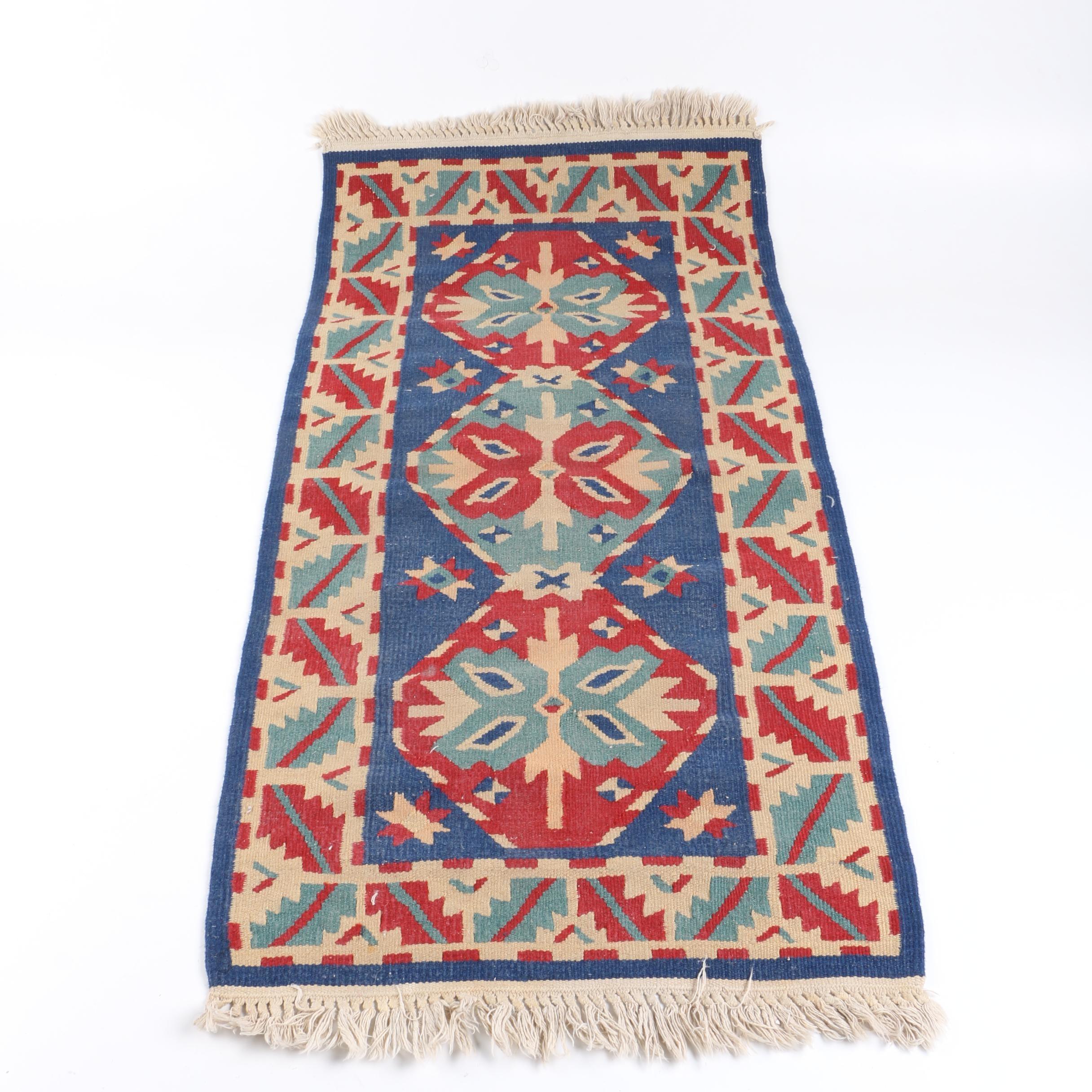 Handwoven Anatolian Kilim Carpet Runner