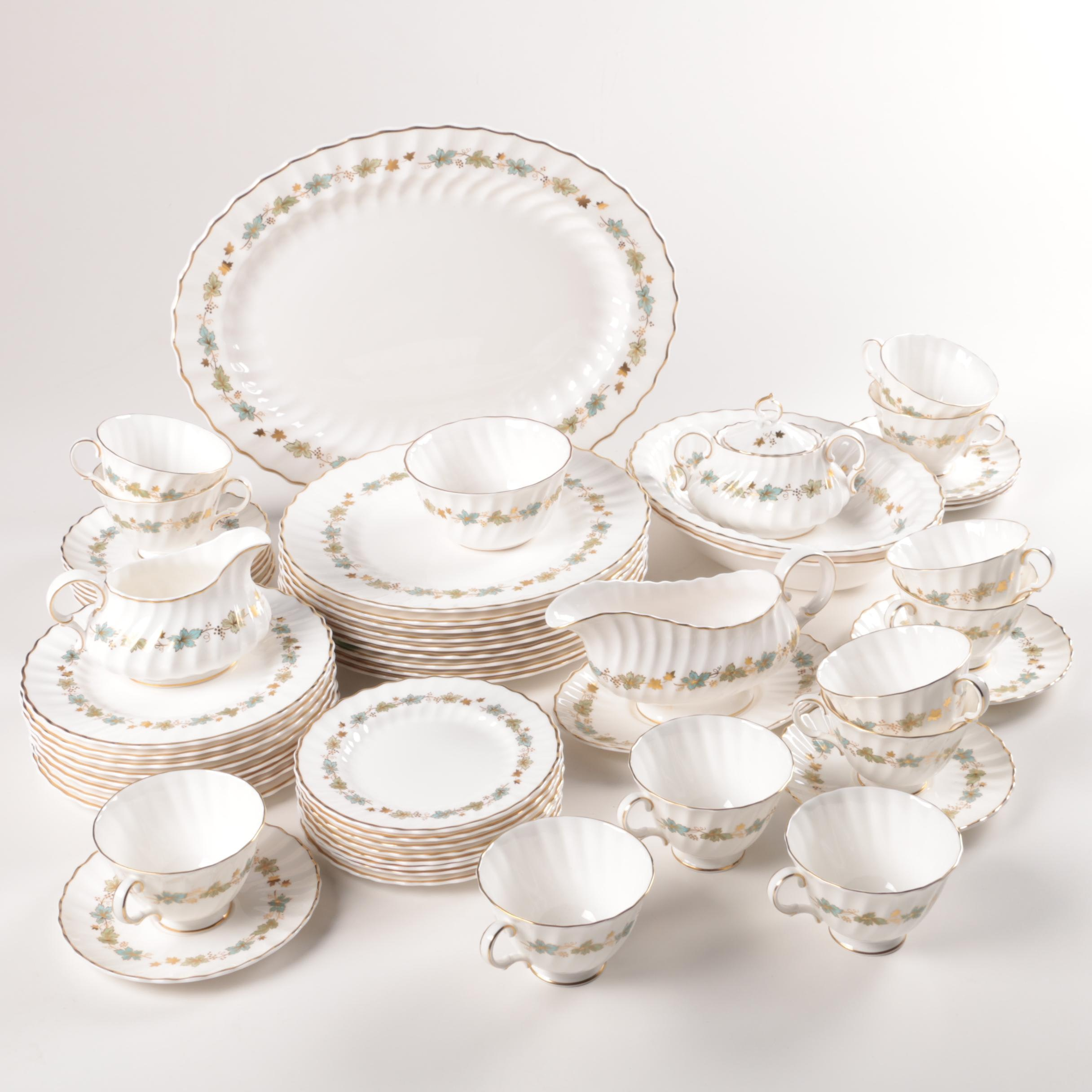 "Vintage Royal Doulton ""Piedmont"" Bone China Tableware"